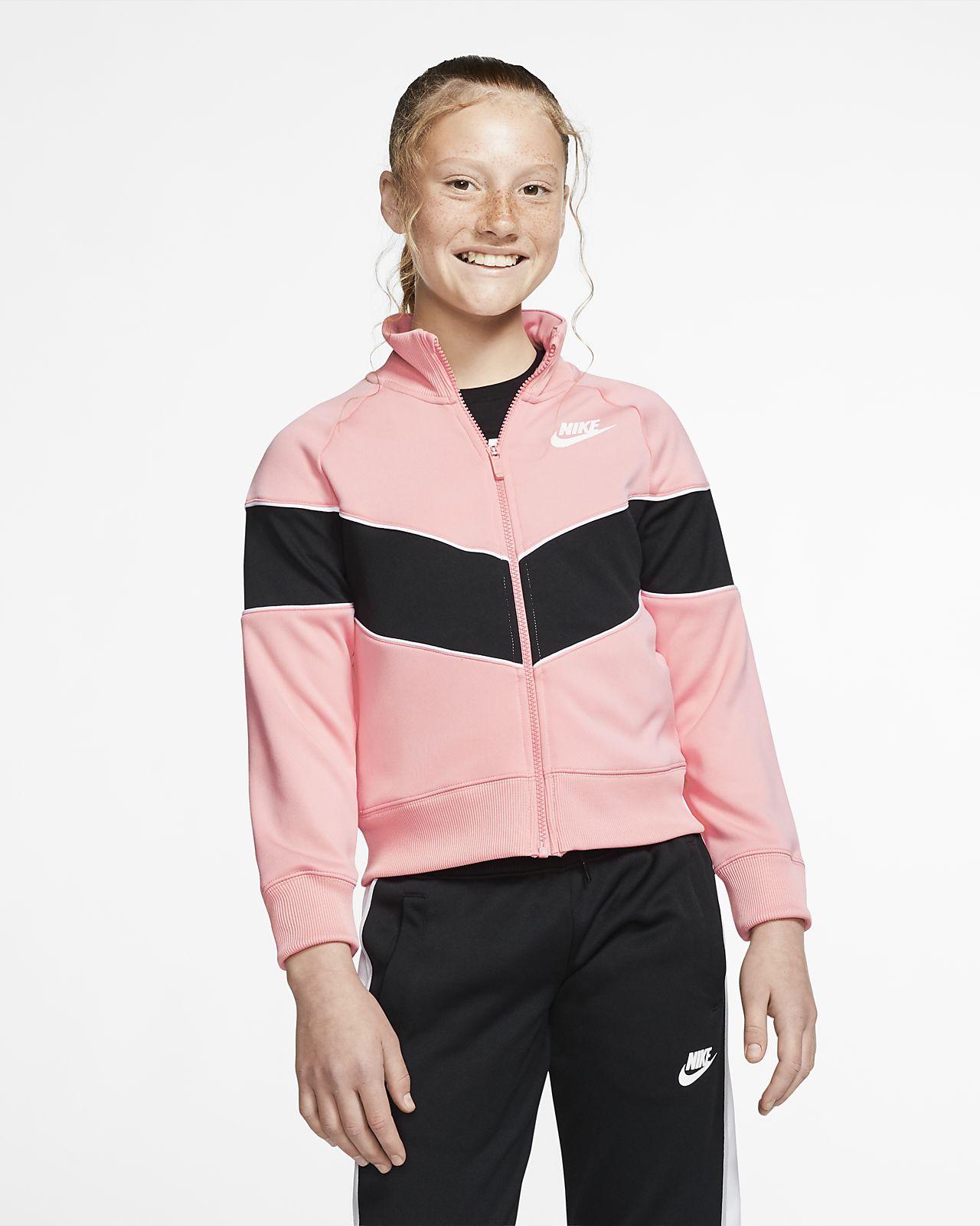 Nike Sportswear Heritage Older Kids' (Girls') Full-Zip Jacket