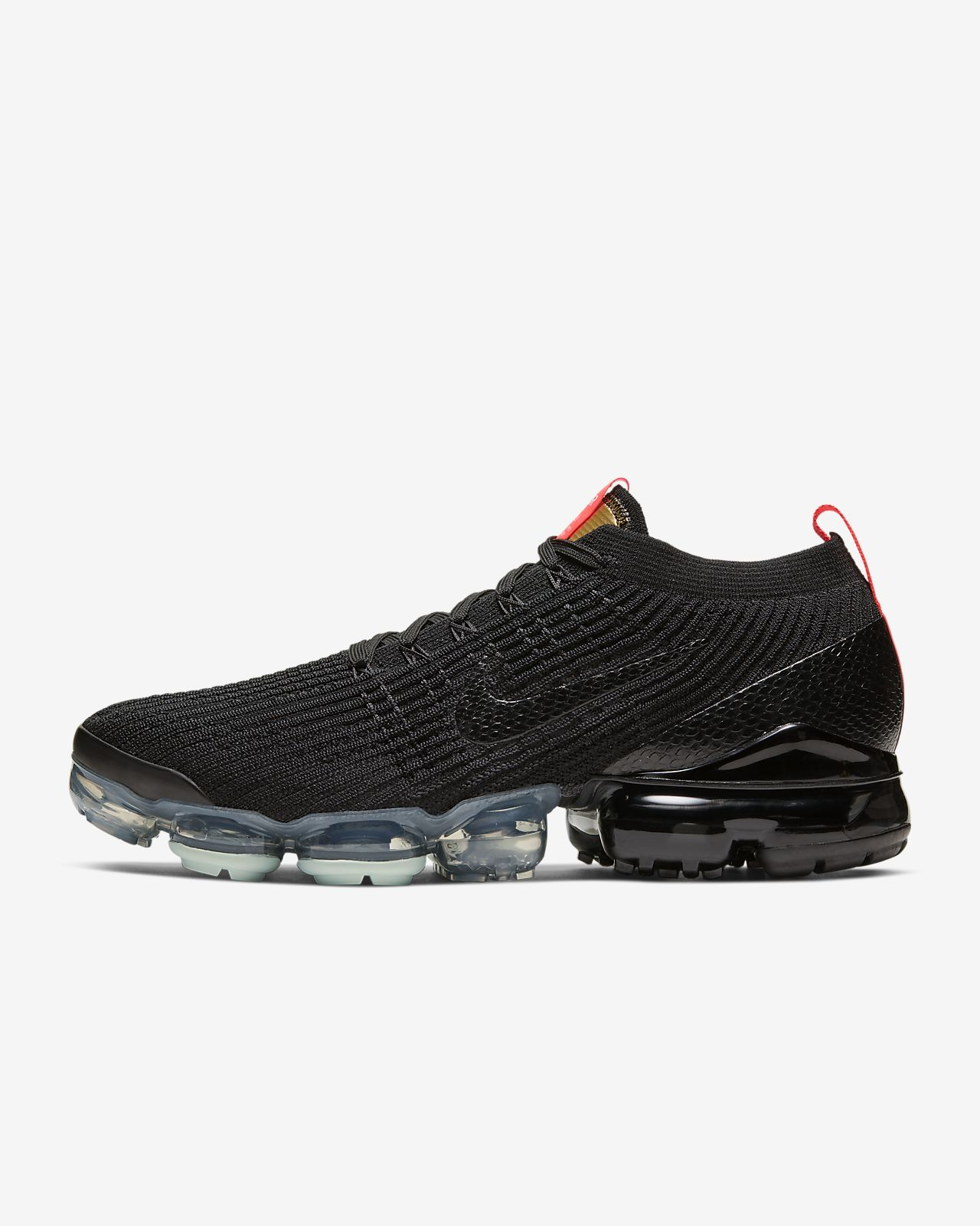 nike vapormax svart and hvit