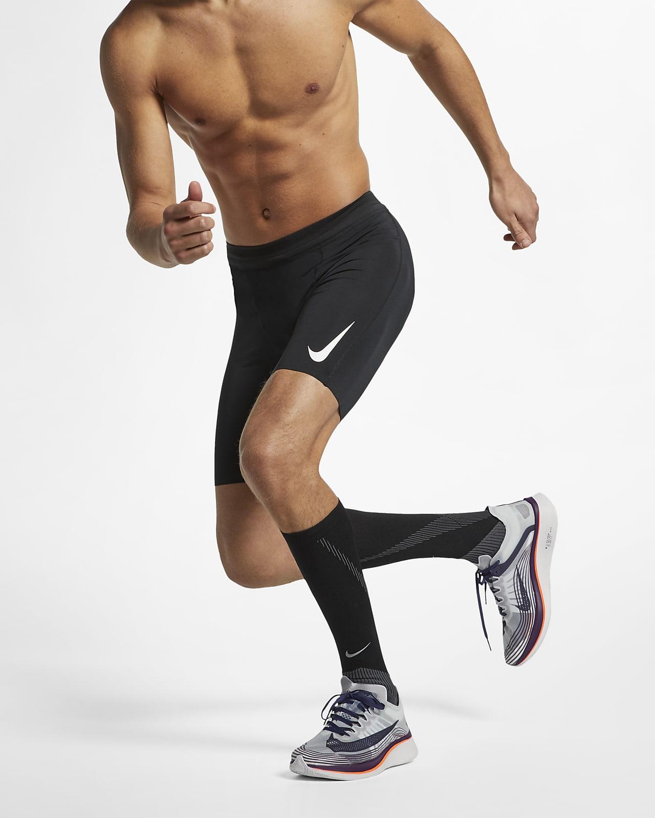 Nike AeroSwift 男子跑步紧身中裤
