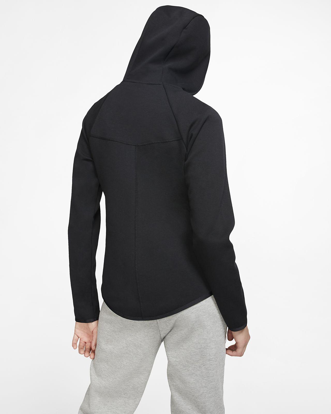 Nike Tech Fleece Windrunner Hoodie Black Black