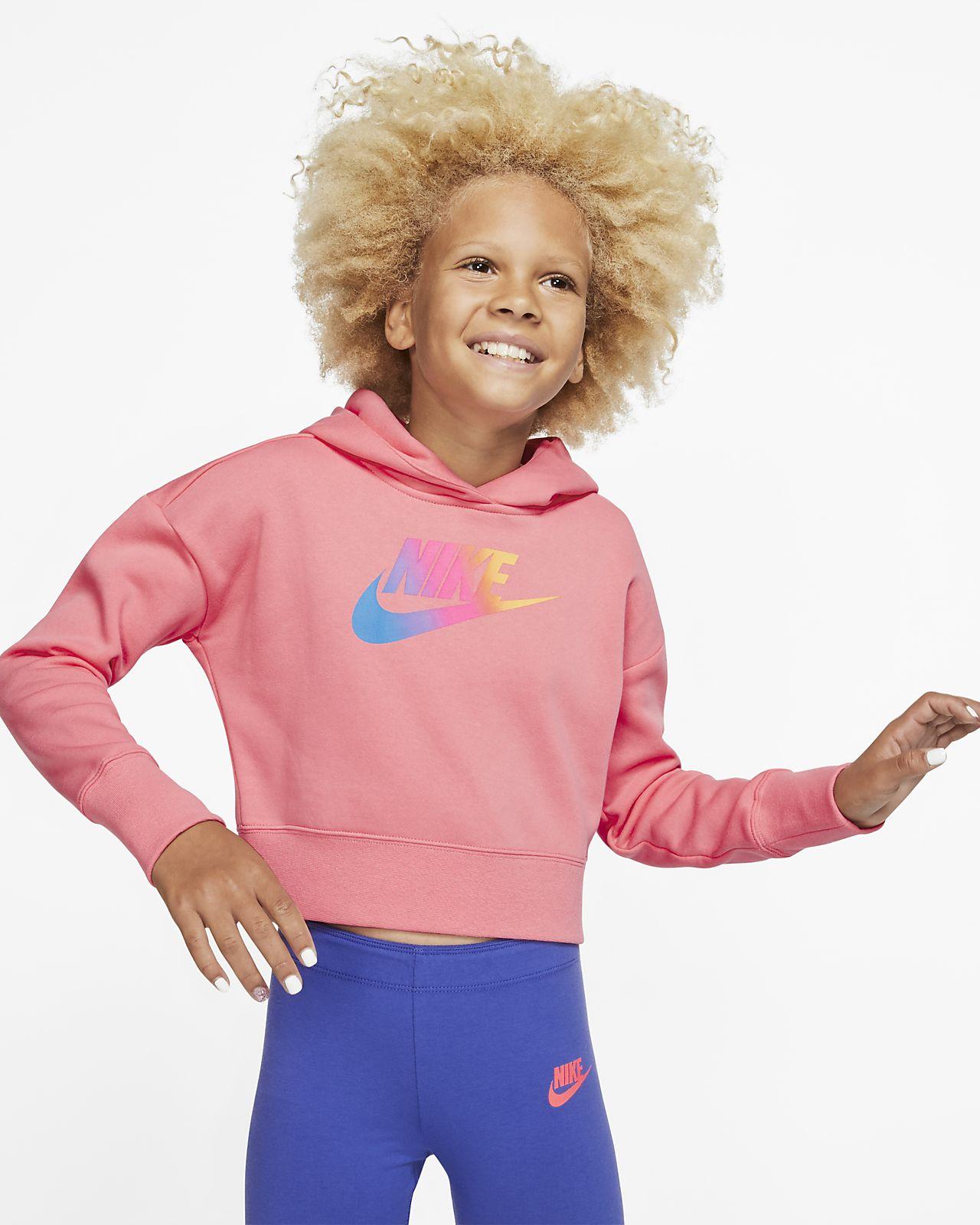 Hoodie recortado Nike Sportswear Júnior (Rapariga)