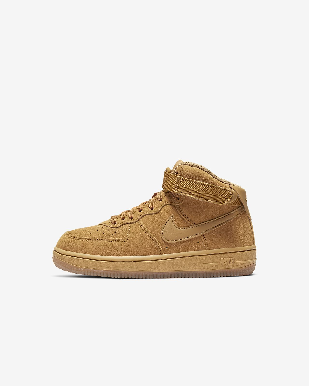 Nike Force 1 Mid LV8 3 (PS) 幼童运动童鞋