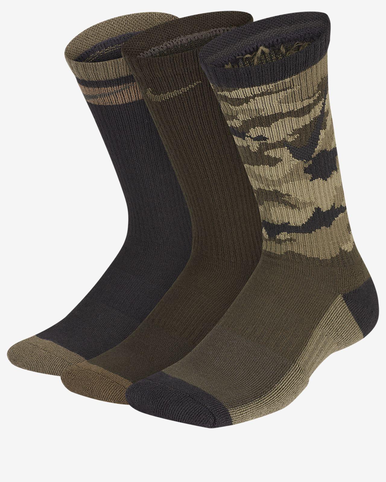 Nike Everyday Cushioned Kids' Crew Socks (3 Pairs)