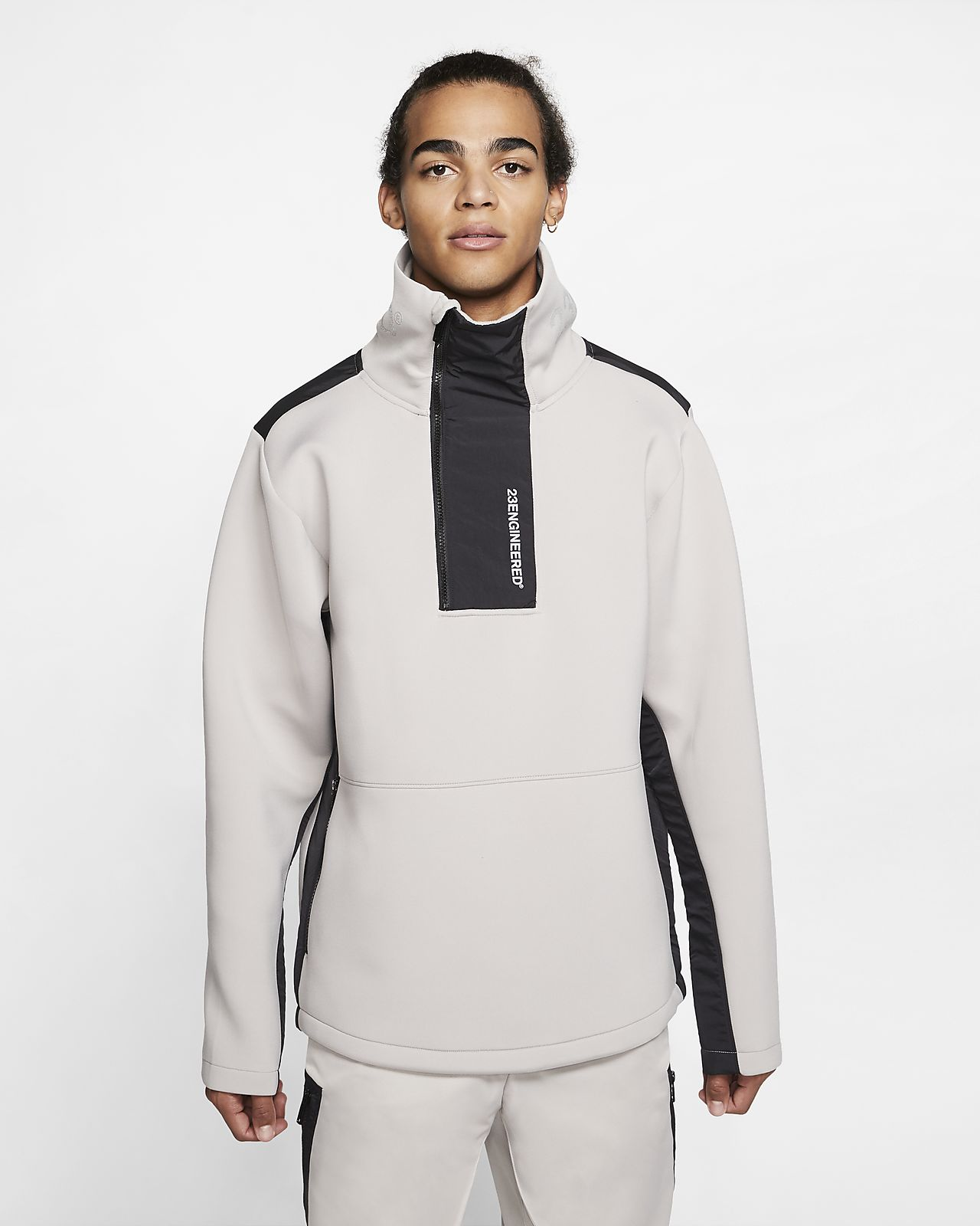 Intacto Lucro jazz  Jordan 23 Engineered Fleece Mock-Neck Sweatshirt. Nike LU