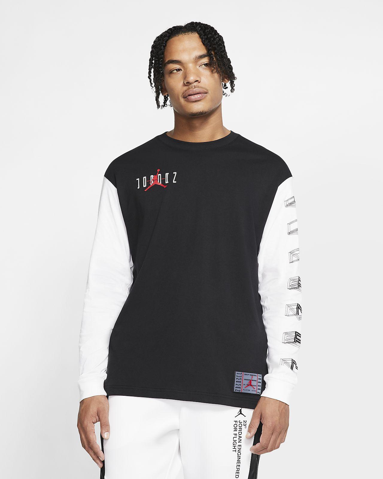 Jordan Legacy AJ11 Men's Long-Sleeve T-Shirt