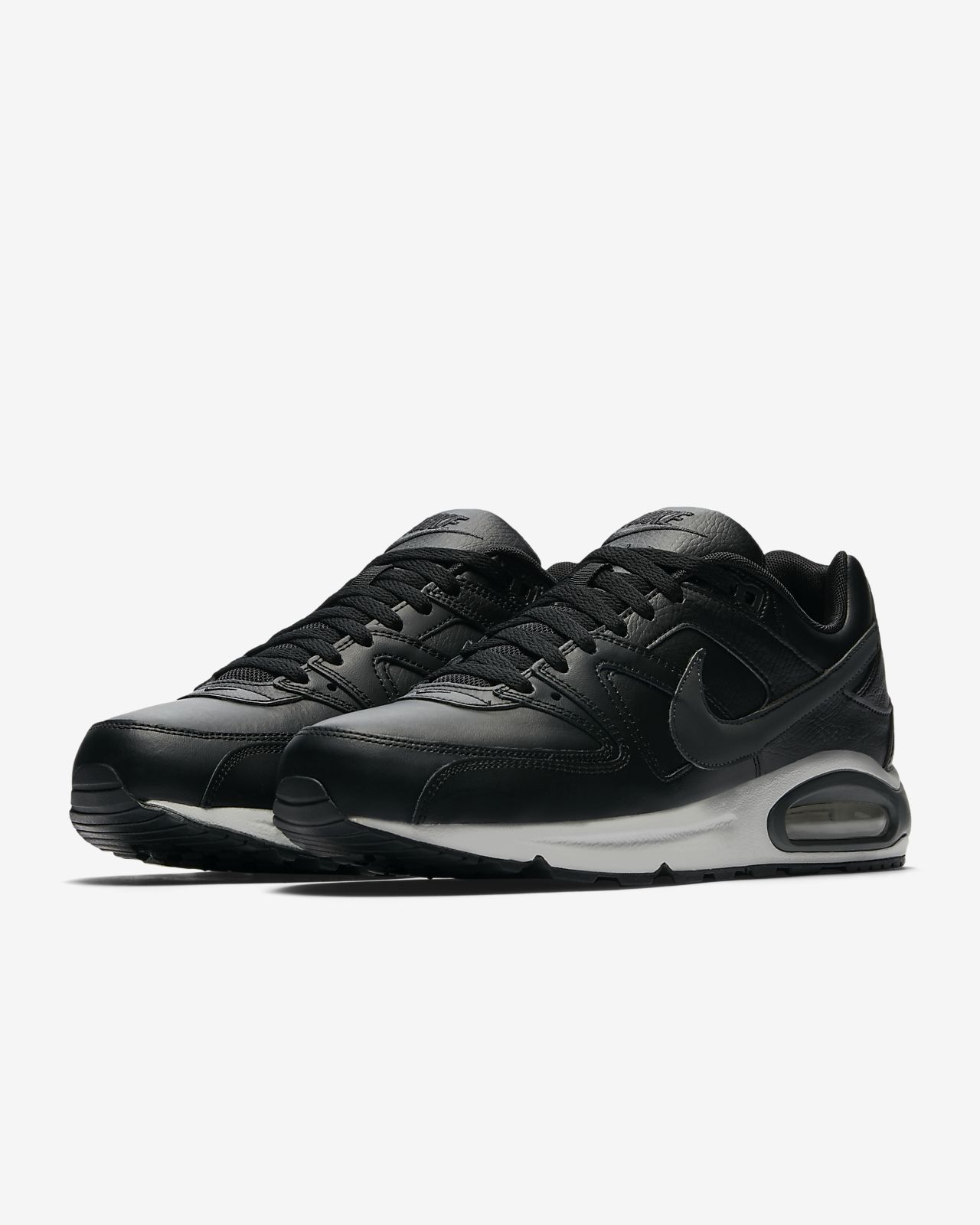 Nike Air Max Command Leather Men's Shoe wolf greymetallic dark greyblackwhite 749760 012