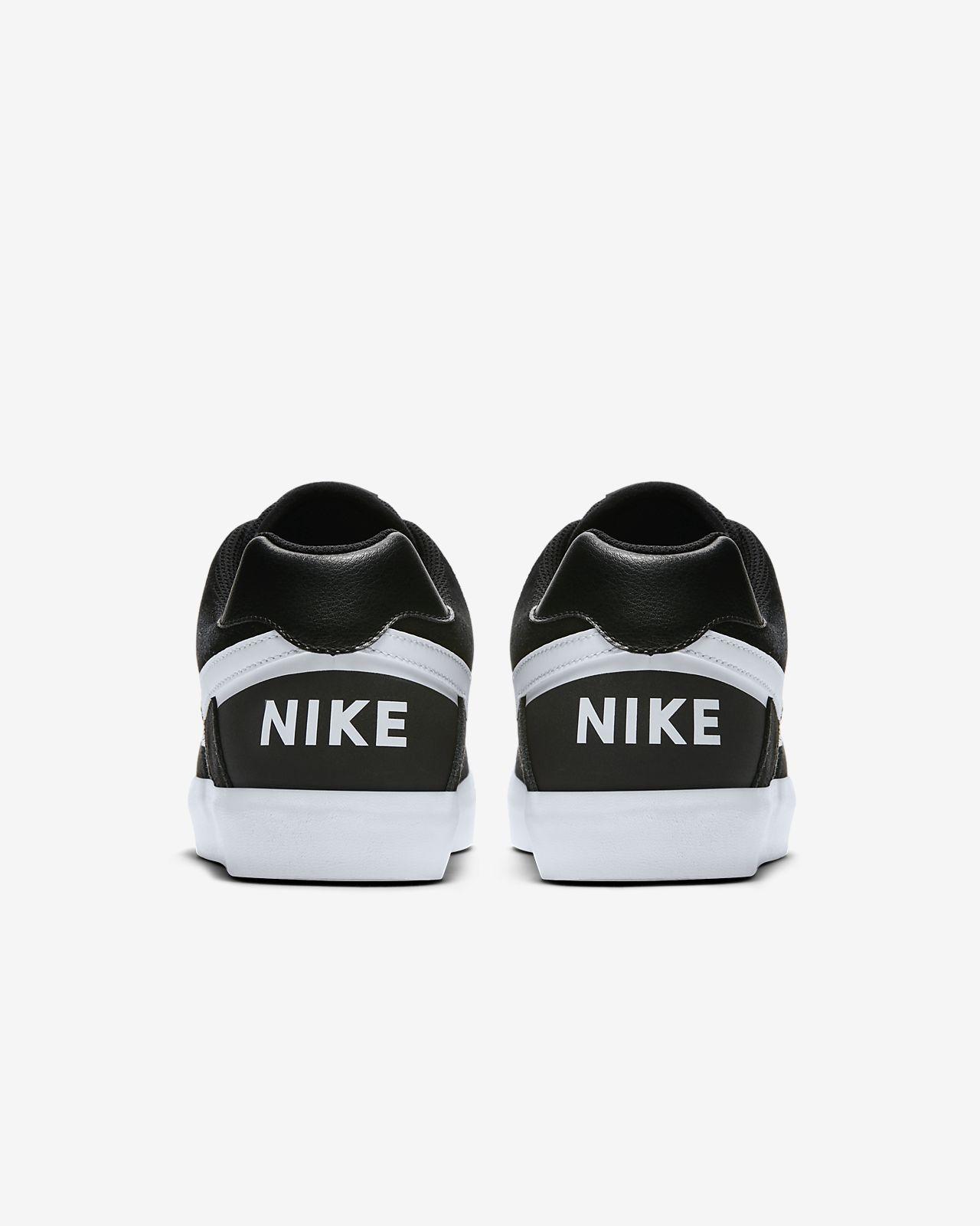 Nike Mens SB Delta Force Vulc Skateboard Shoes 942237-010 Black White