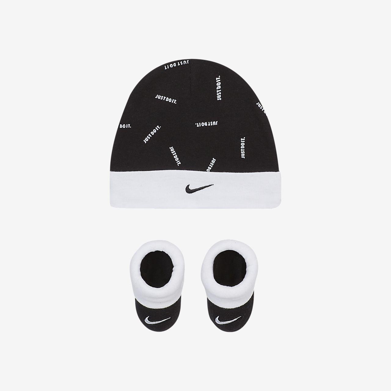 Nike Baby Hat \u0026 Booties 2-Piece Box Set