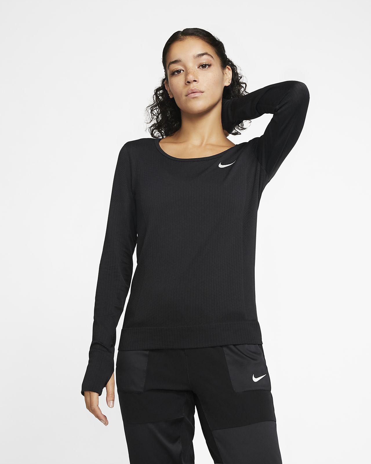 Camisola de running de manga comprida Nike Infinite para mulher
