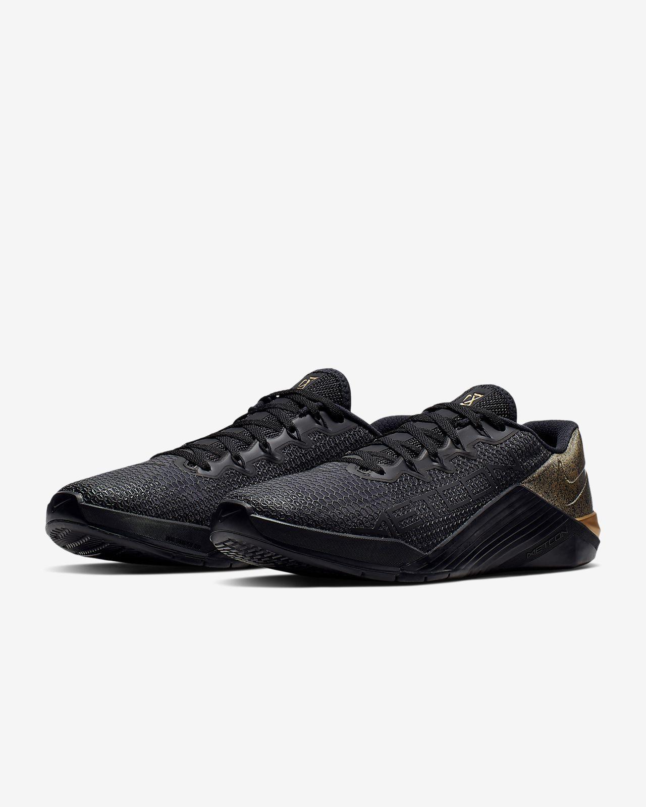 Sort Nike NIKE METCON 4 FITNESS CROSS.FIT.SKO SORT