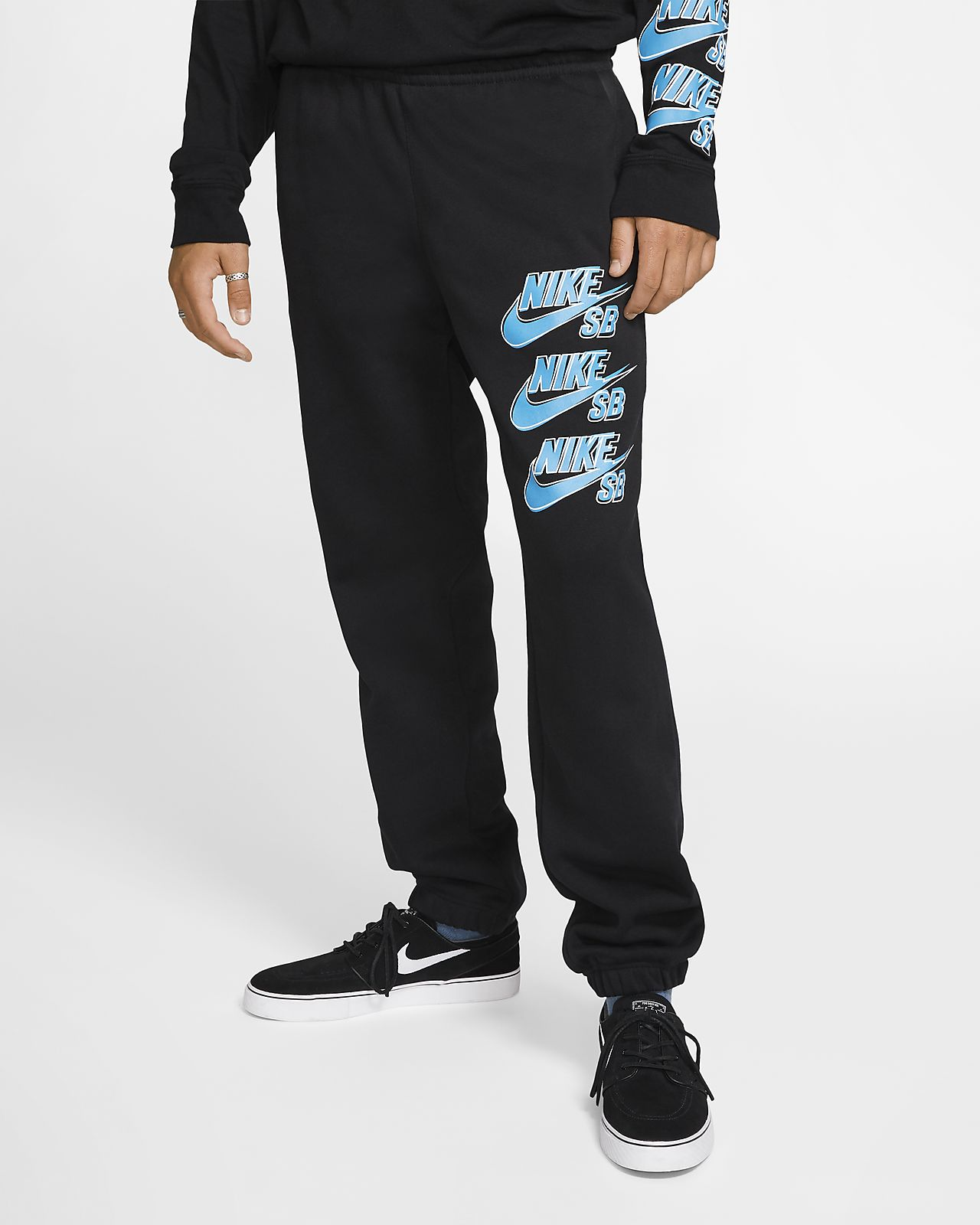 Nike SB Icon Pantalons de teixit Fleece de skateboard - Home