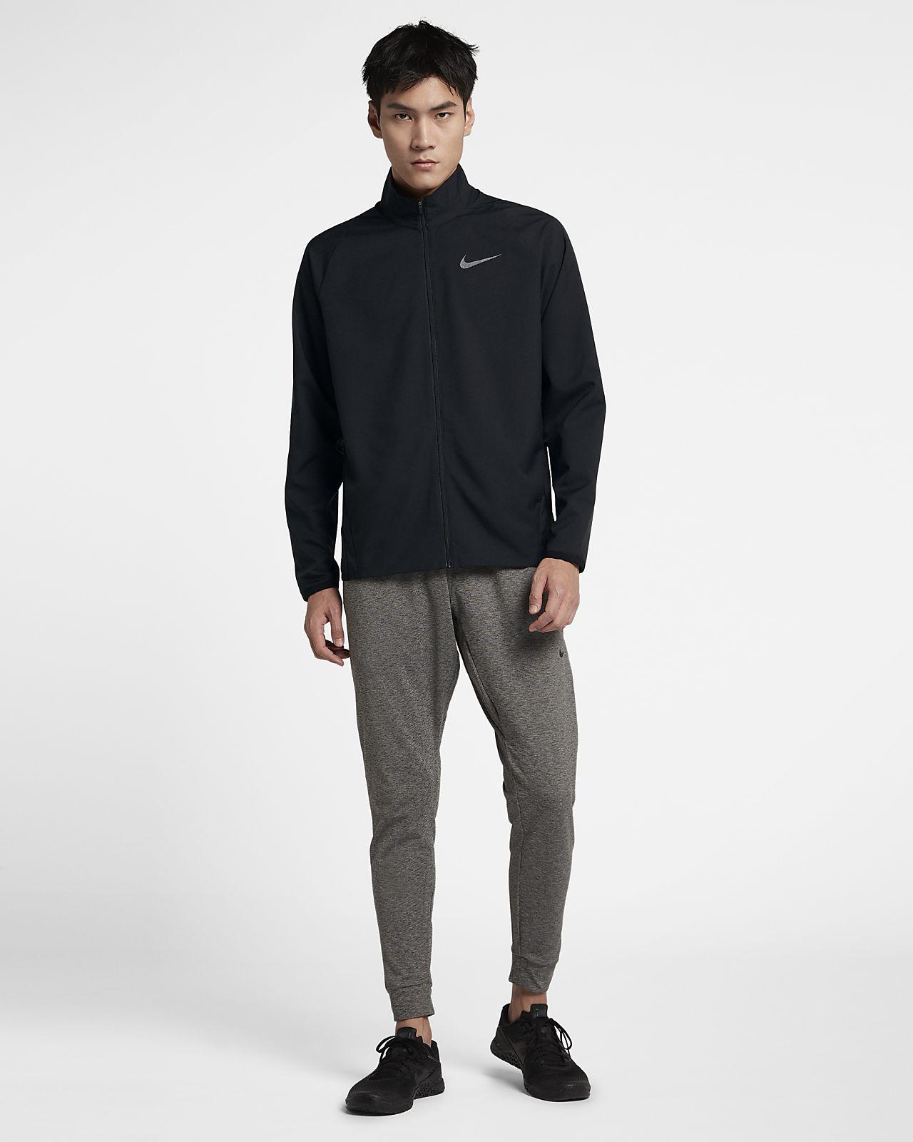 Nike Dri FIT Geweven trainingsjack voor heren. Nike NL