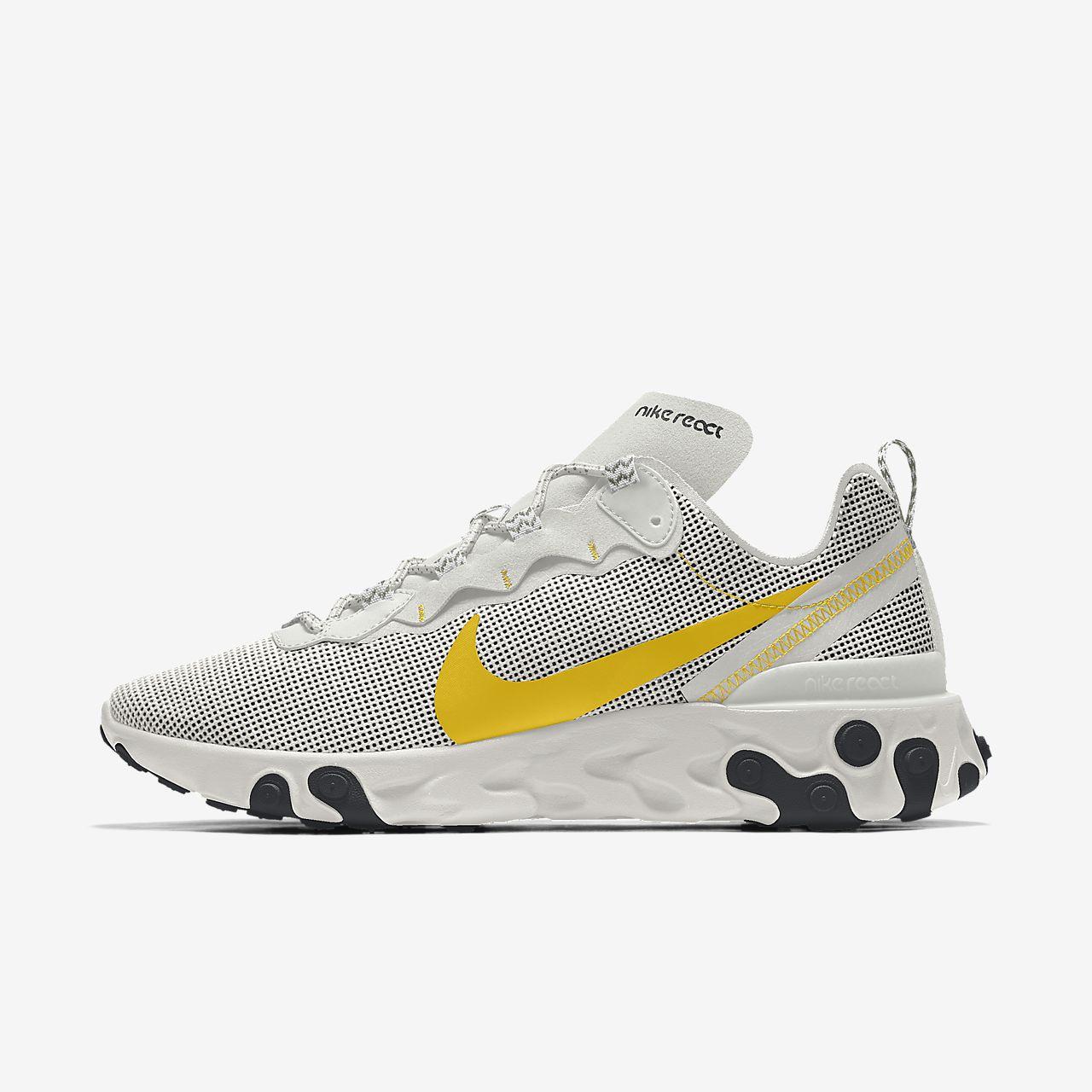 Nike React Element 55 Premium By You Custom Men's Shoe