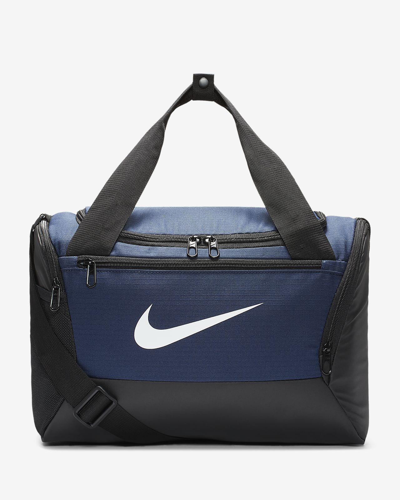 Buy Nike Brasilia (Extra Small) Duffel Bag From Nike in Blue