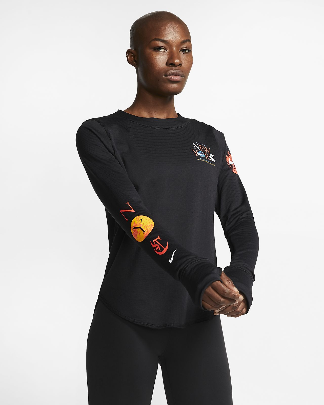 Nike Sphere Element NYC Women's Long-Sleeve Running Top