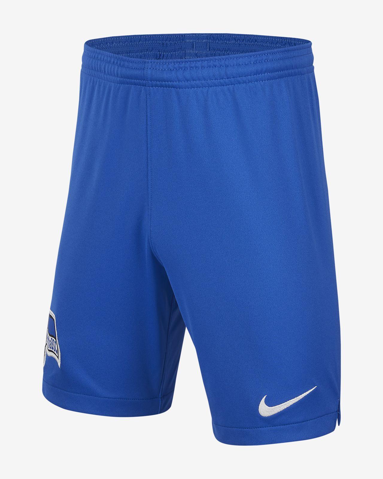 Hertha BSC 2019/20 Stadium Home Older Kids' Football Shorts