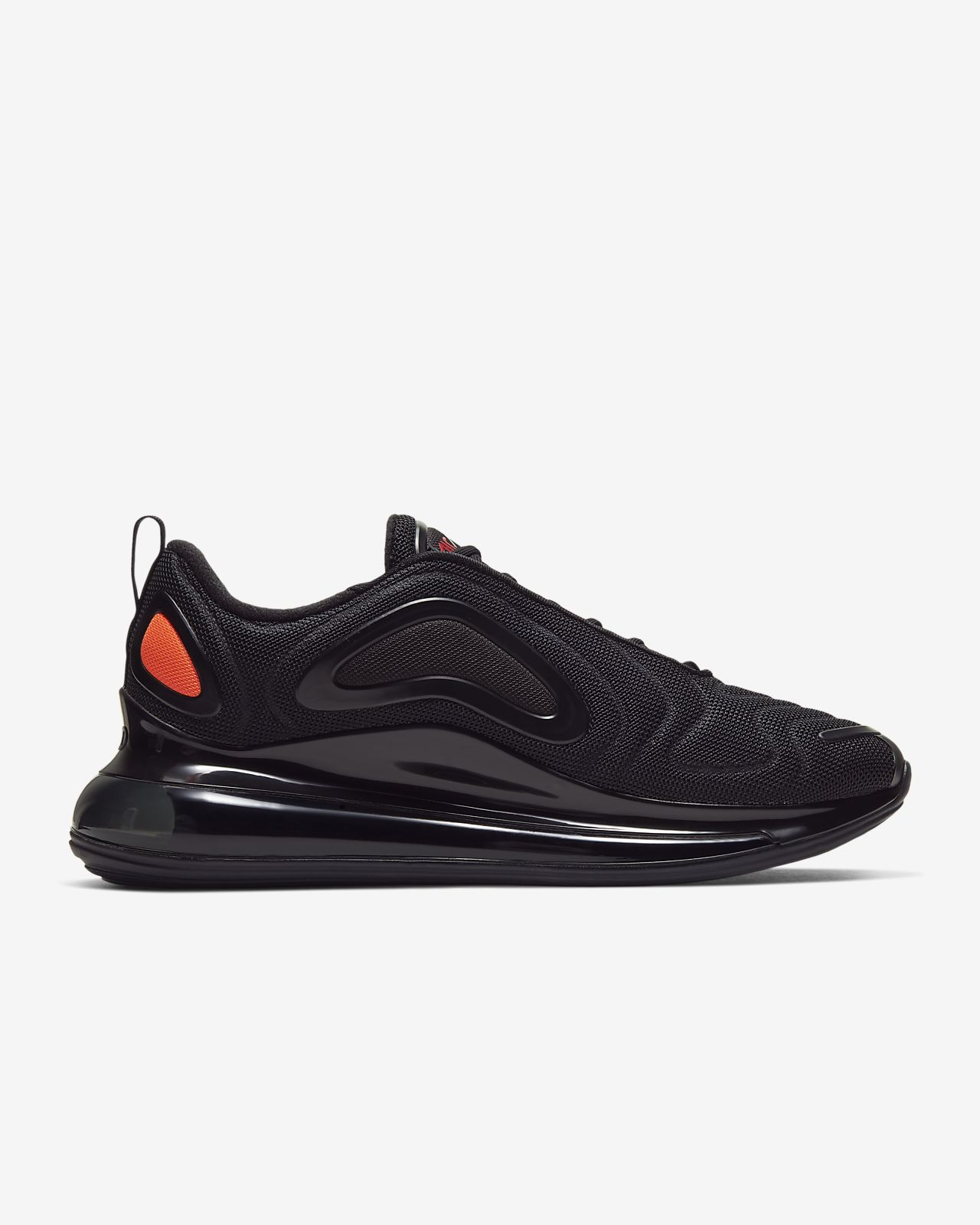 Nike Air Max 720 Sneakers BlackHyper CrimsonUniversity Red