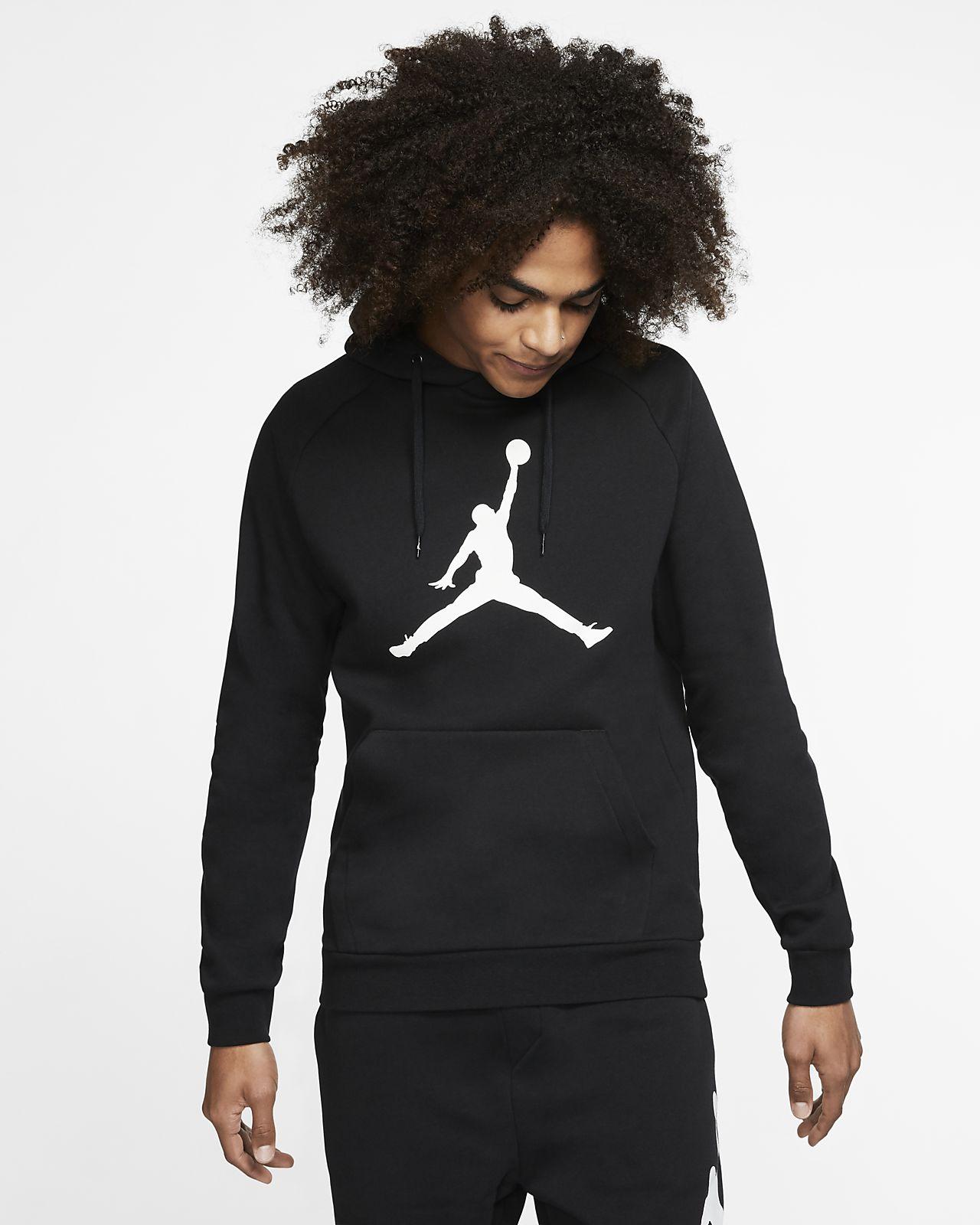 Jordan Jumpman Logo Men's Fleece Pullover Hoodie