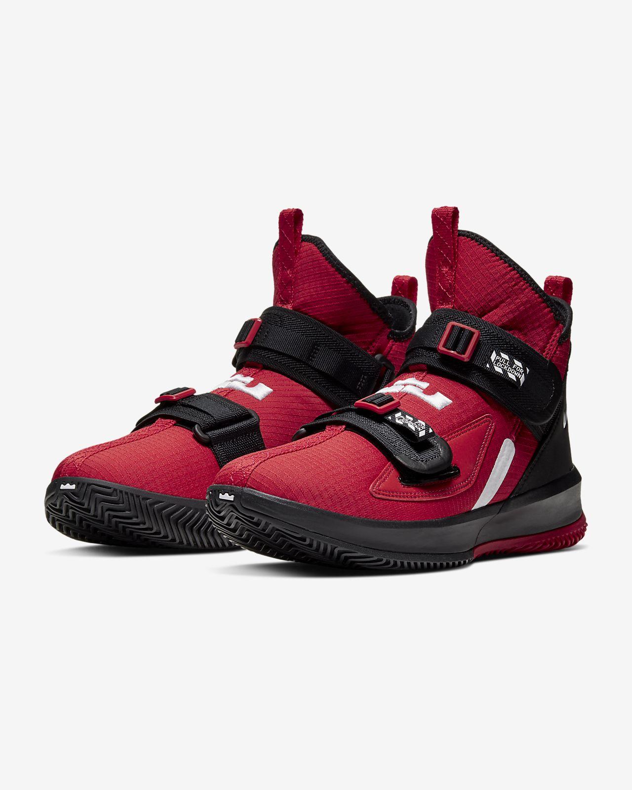 lebron soldier 13 sfg basketball shoe. nike