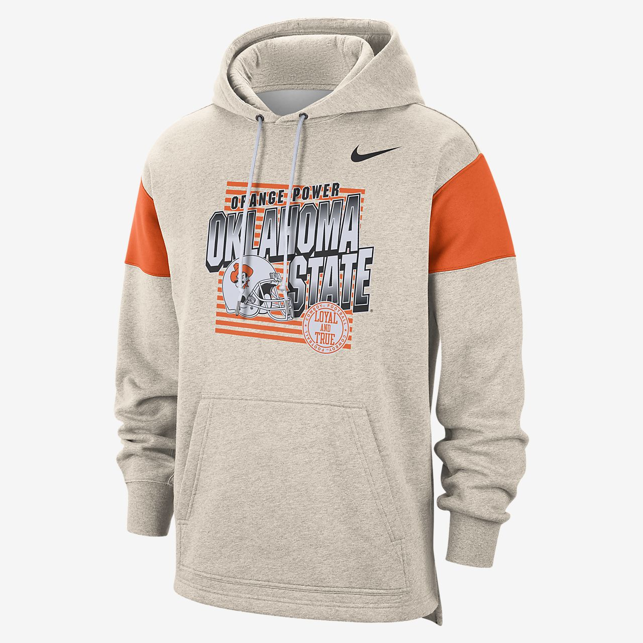 Nike College (Oklahoma State) Men's Pullover Hoodie