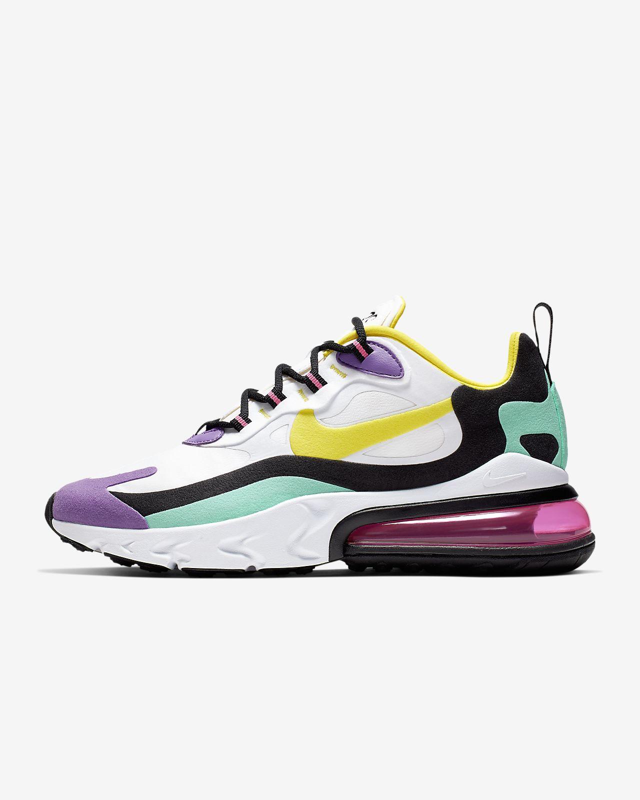 Nike Air Max 270 React (Geometric Abstract) 女鞋