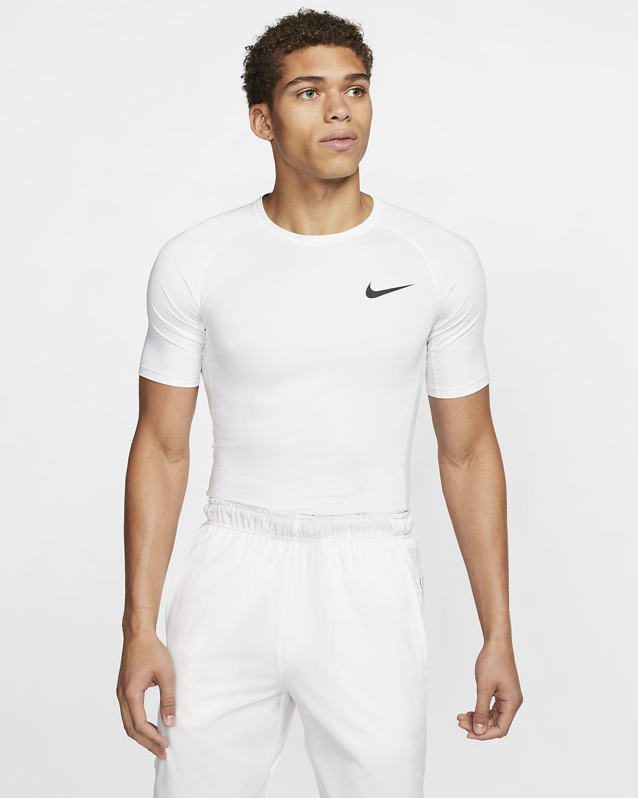 Prenda para la parte superior de manga corta con ajuste ceñido para hombre Nike Pro