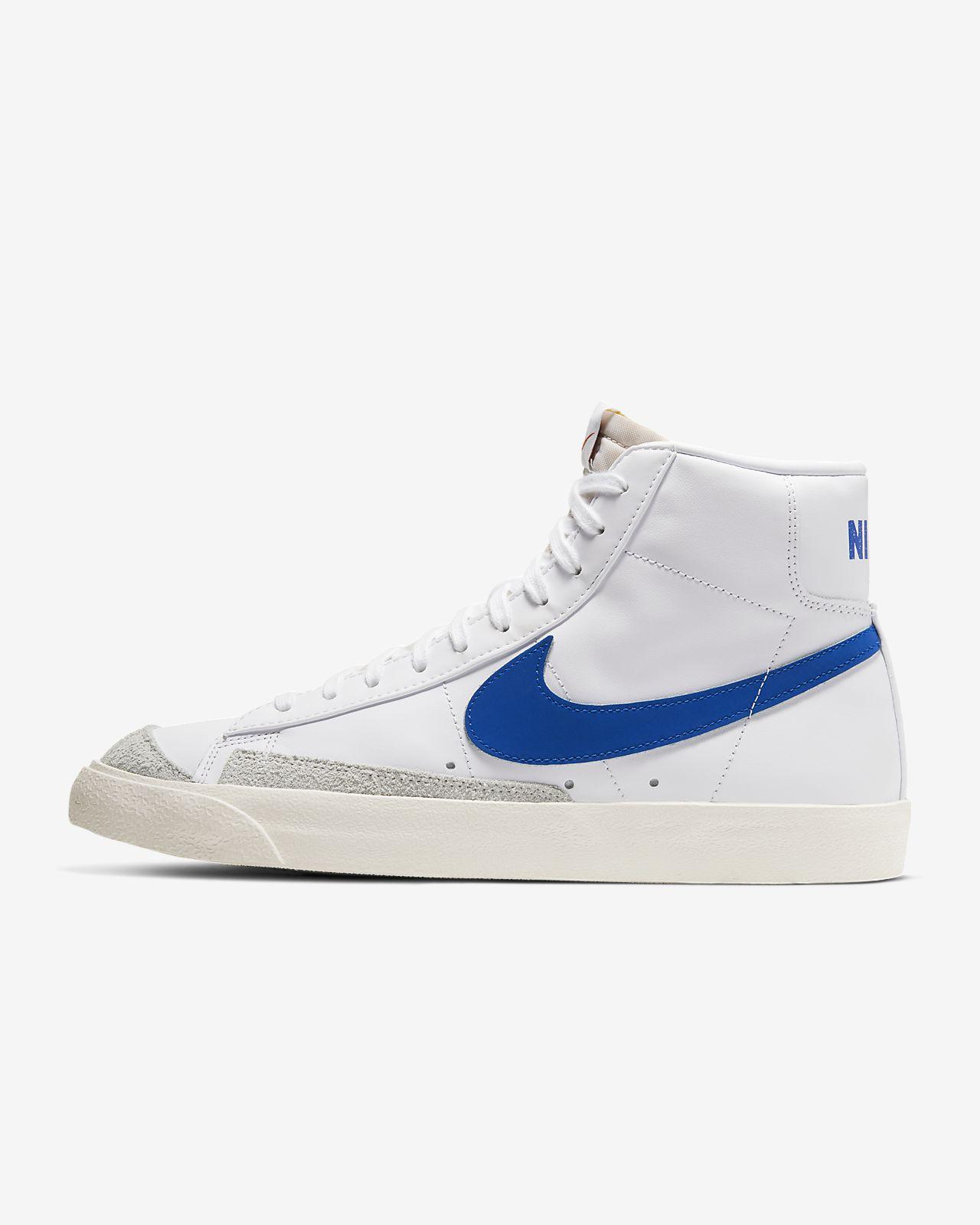 Nike Blazer High Vintage shoes black grey