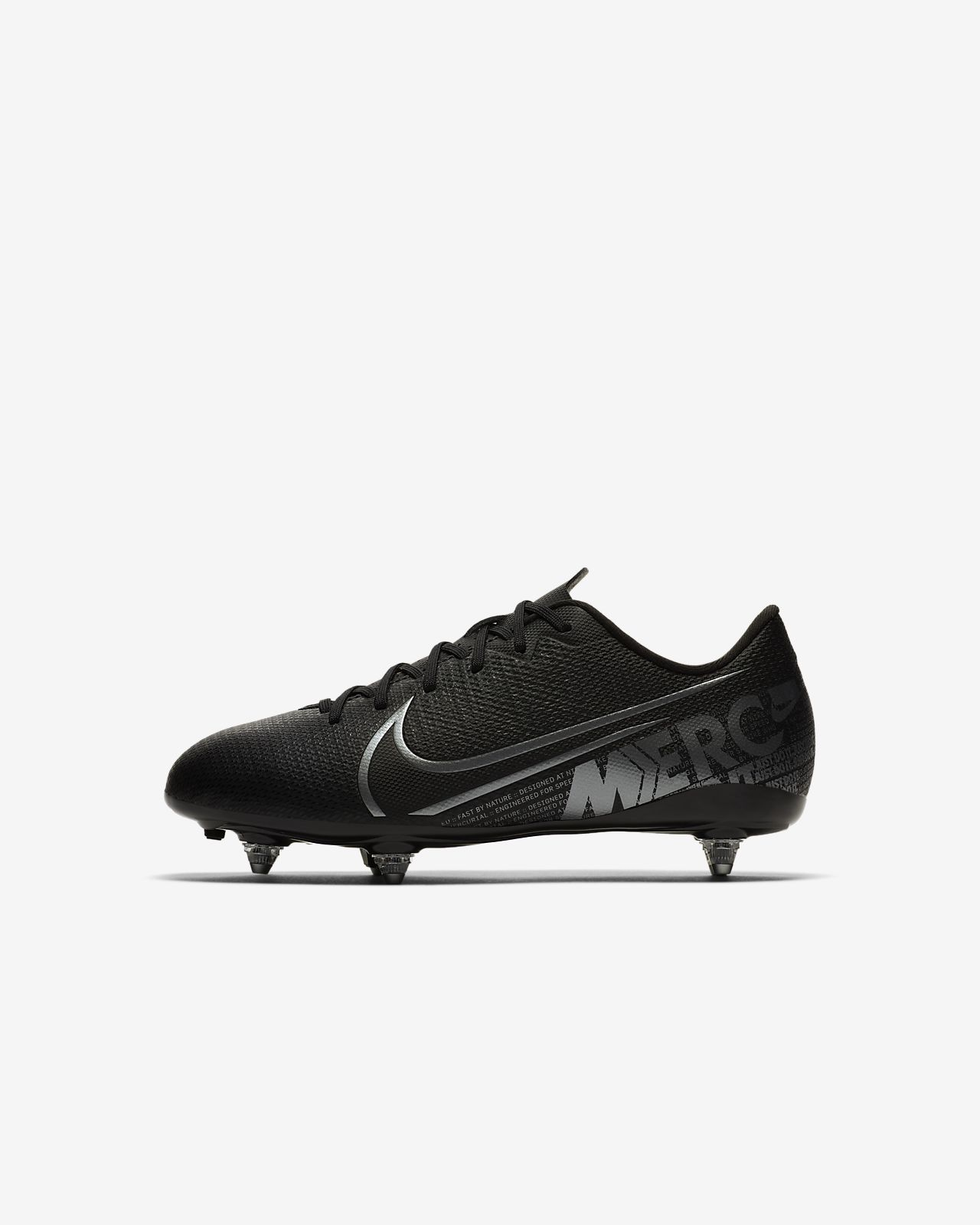 Nike Jr. Mercurial Vapor 13 Academy SG Kids' Soft-Ground Football Boot