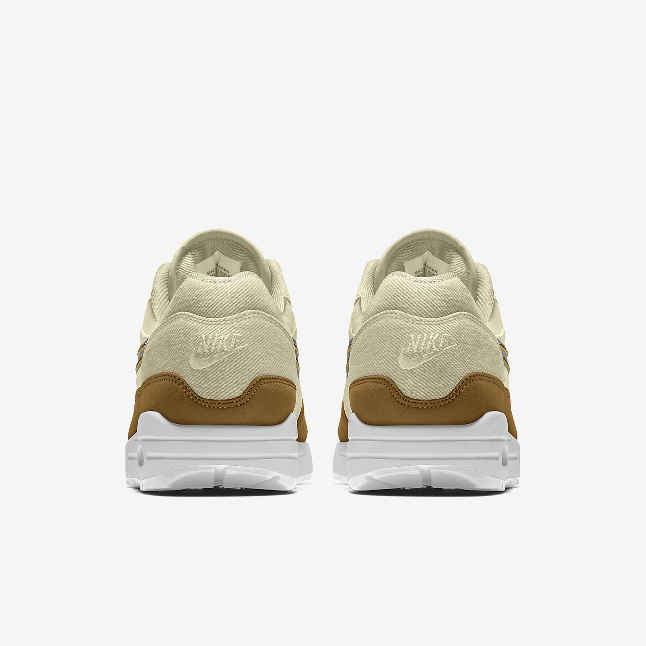 Chaussure personnalisable Nike Air Max 1 Premium By You pour Femme