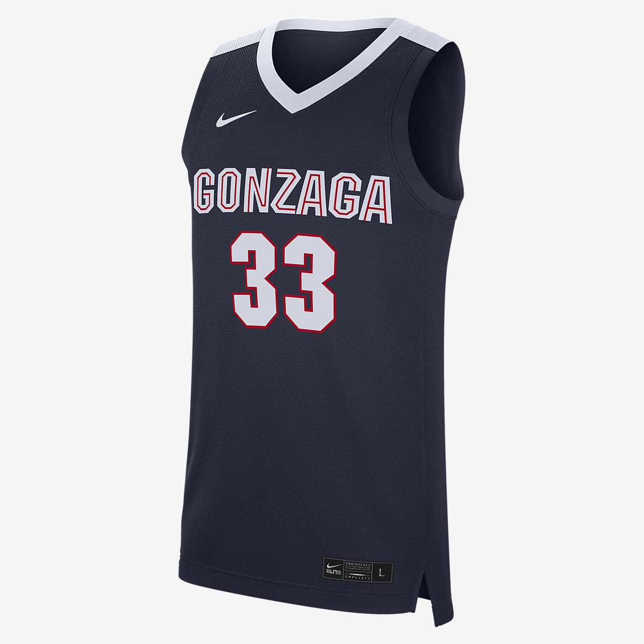Nike College Replica (Gonzaga) Men's Basketball Jersey