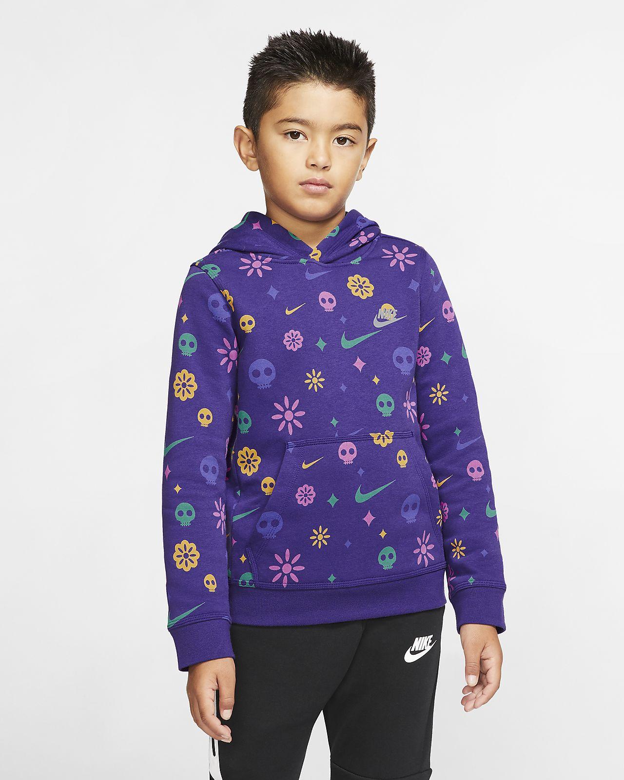 nike hoodie youth xl