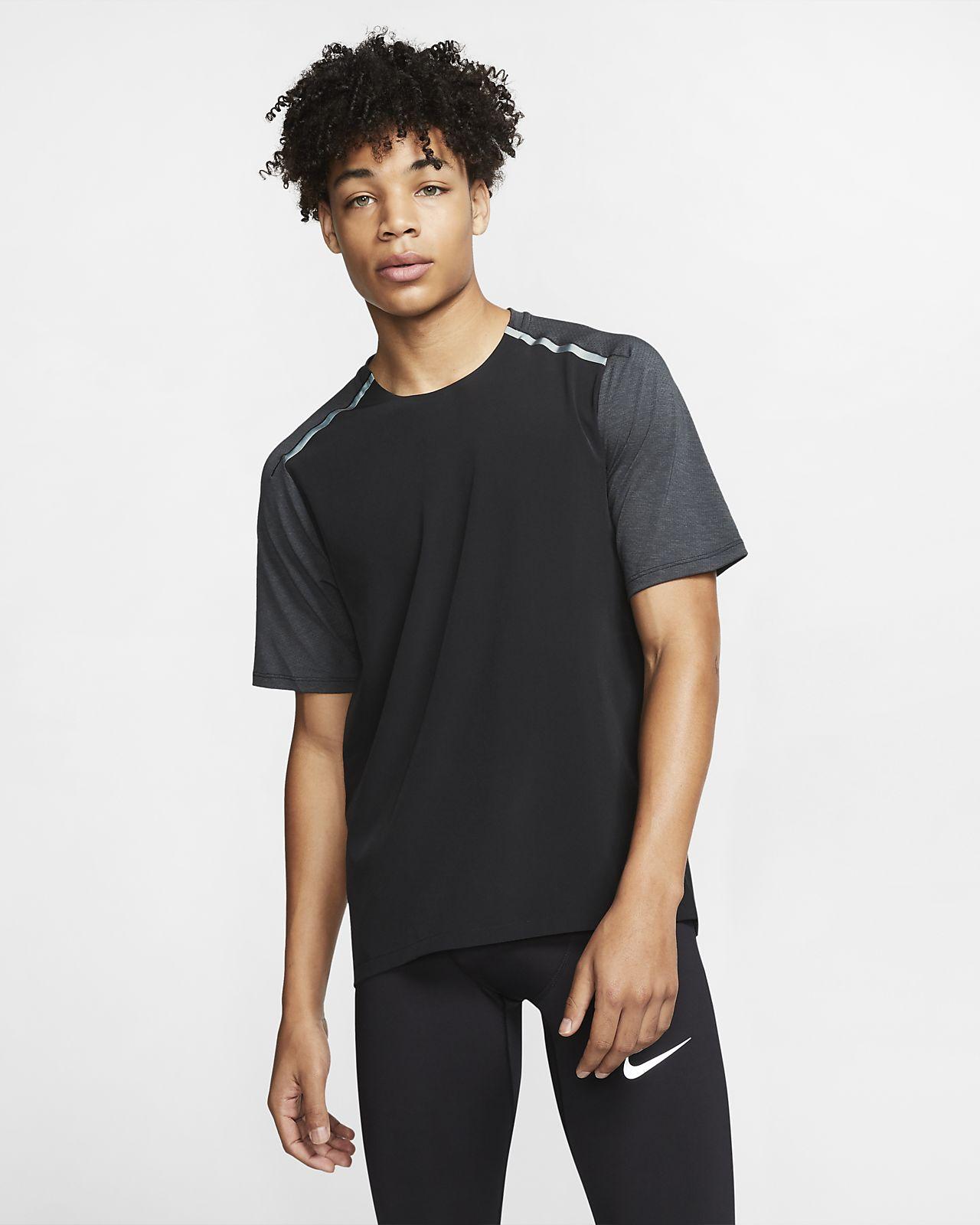 Nike Tech Men's Short-Sleeve Running Top