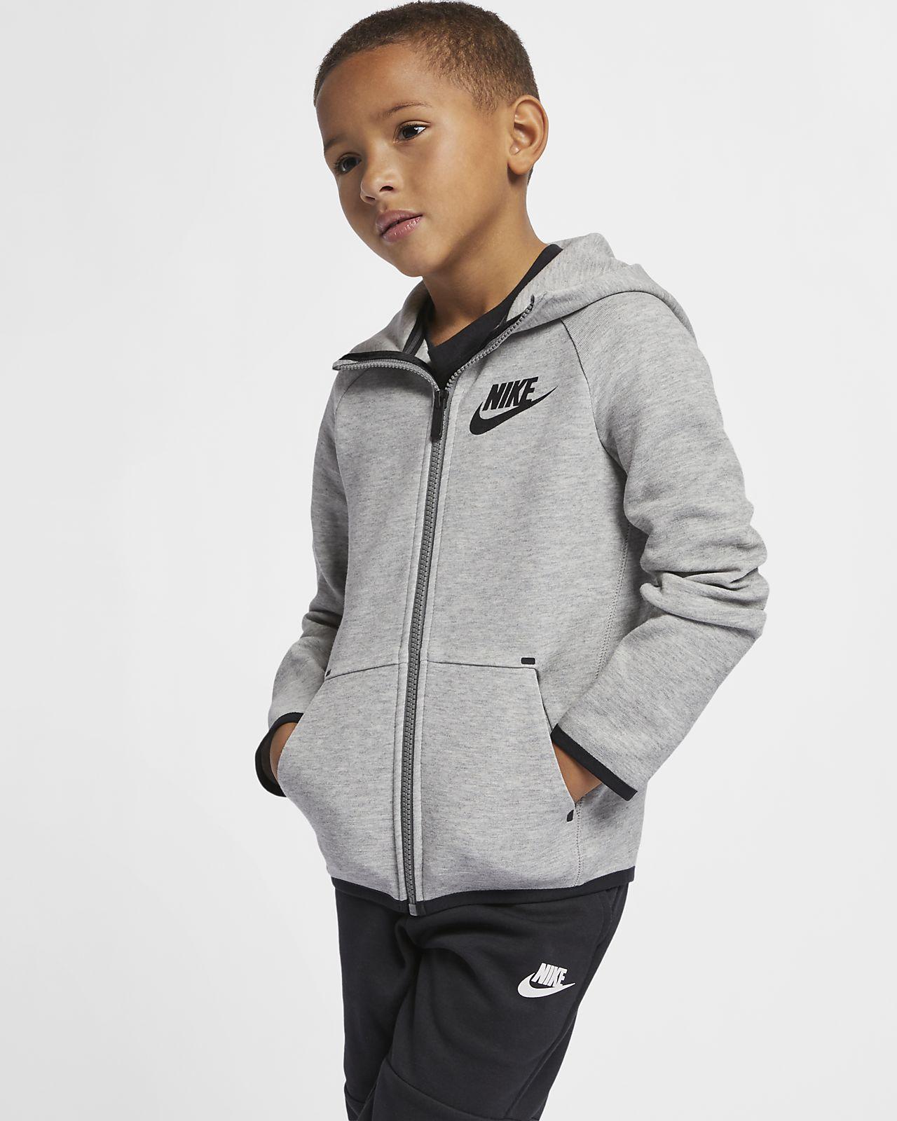 Nike Sportswear Tech Fleece Younger Kids' Hoodie