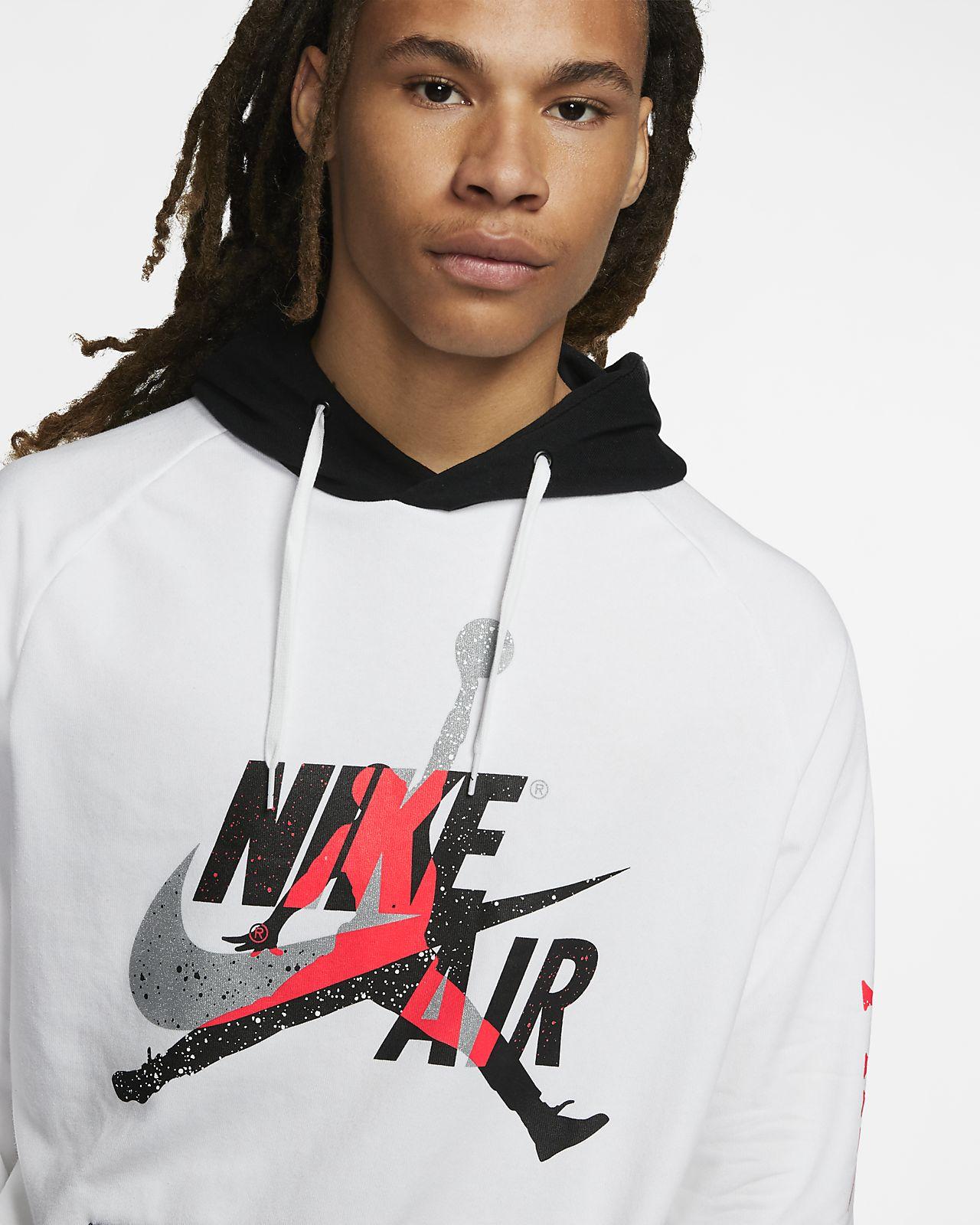 nike m jumpman classics fleece hoodie