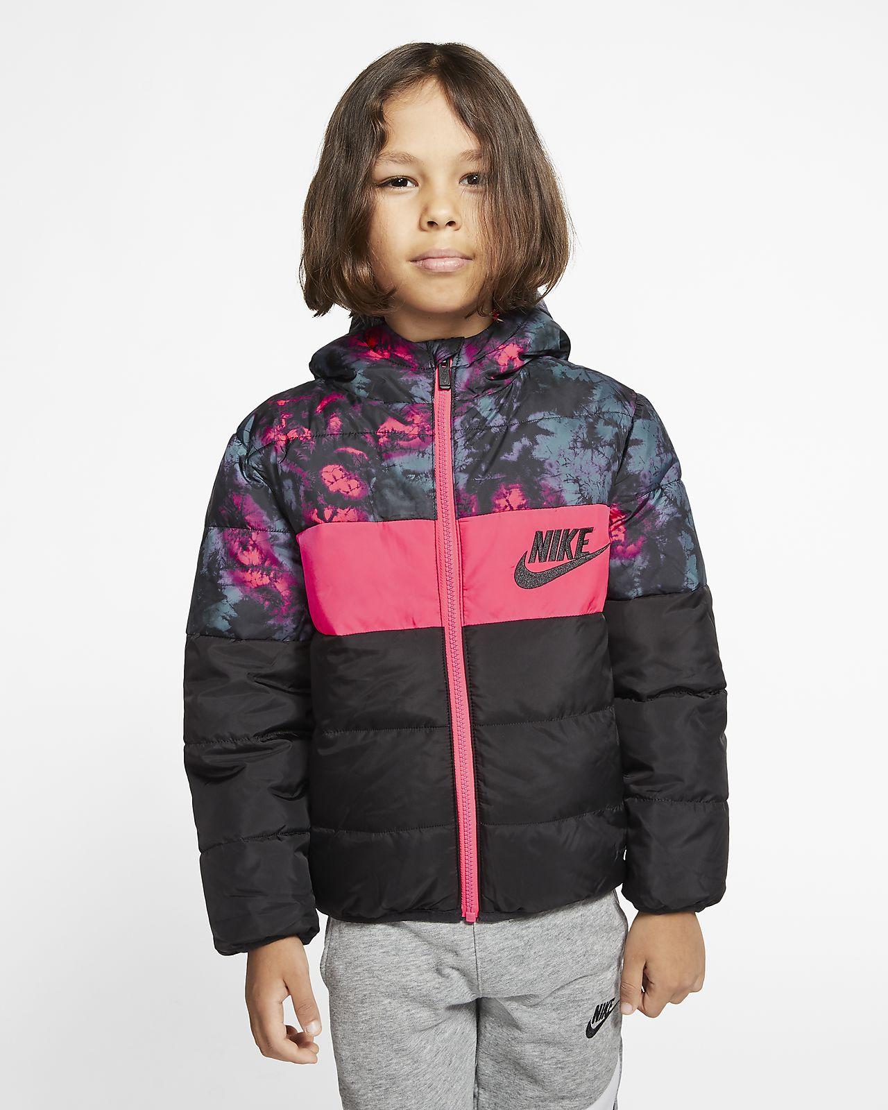 Nike Sportswear Little Kids' Full-Zip Puffer Jacket