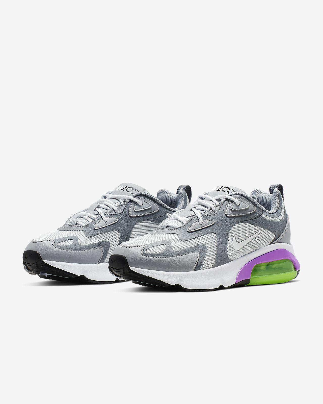 Nike Air Max 200 Sneakers Pure PlatinumWhiteCool GreyWolf Grey