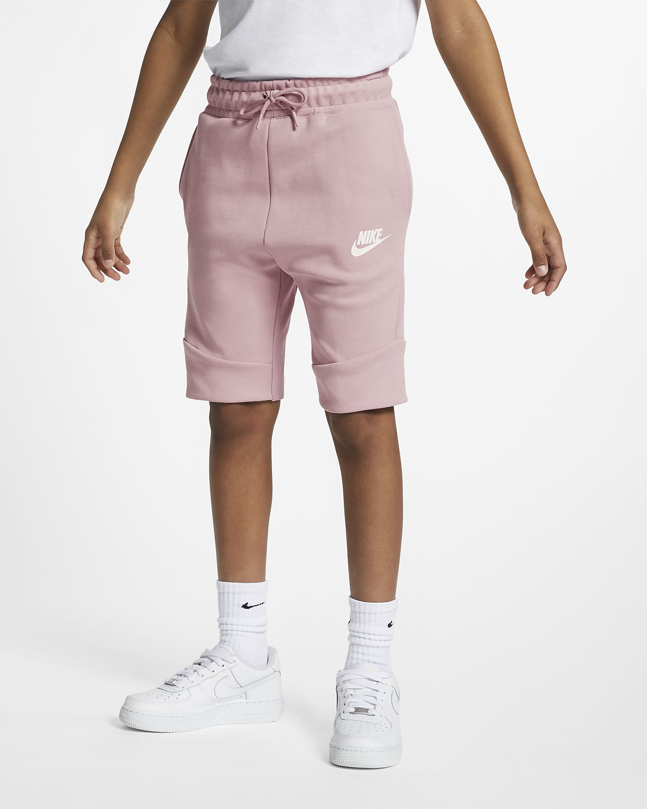 nike shorts fleece