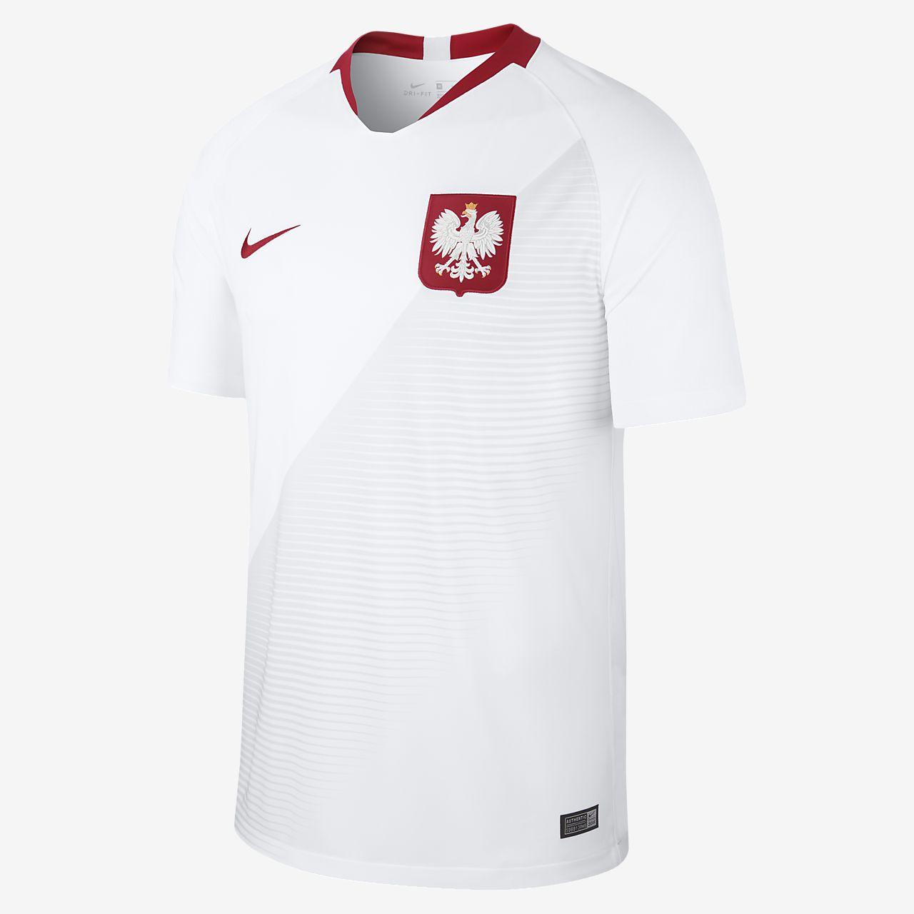 Fotbollströja 2018 Poland Stadium Home för män