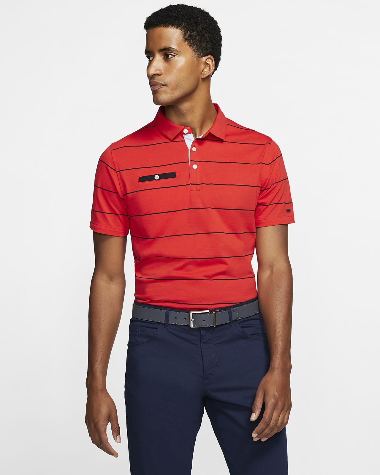 nike polo with pocket