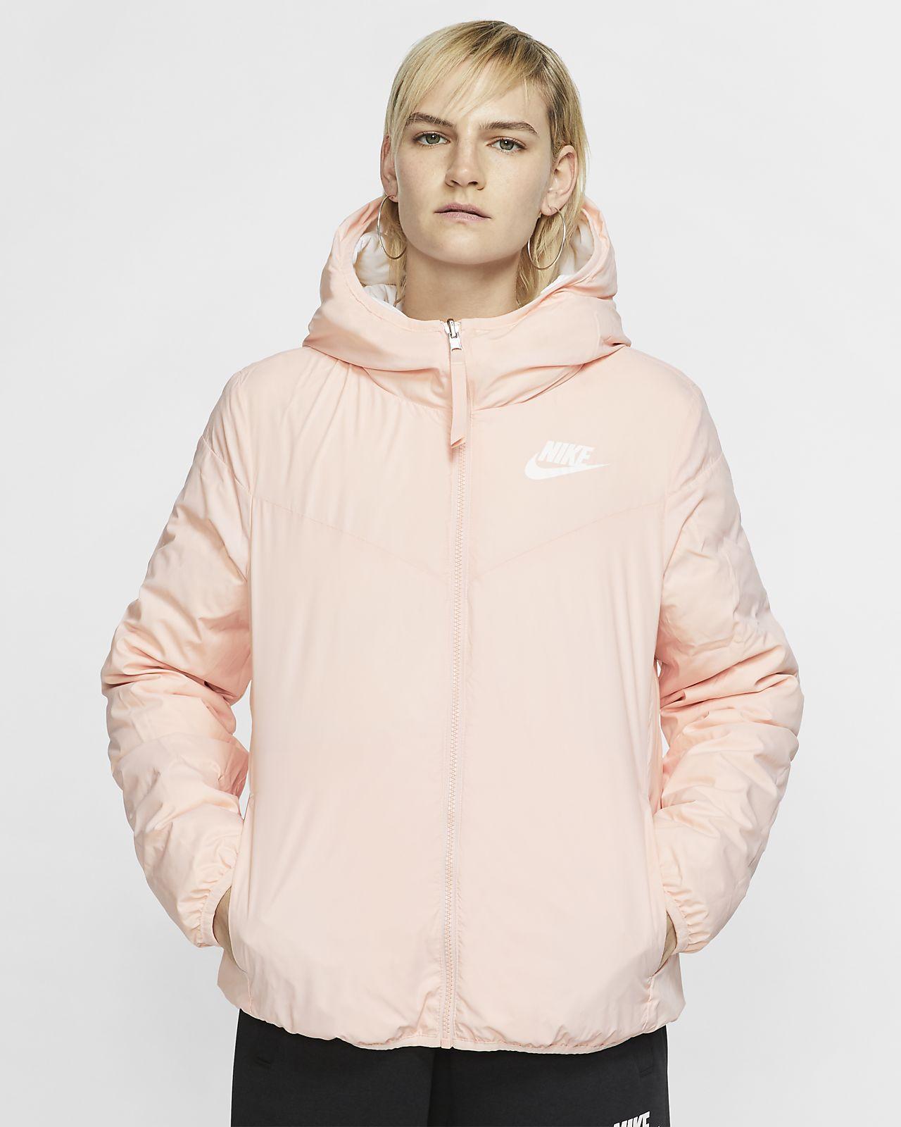 peach nike jacket