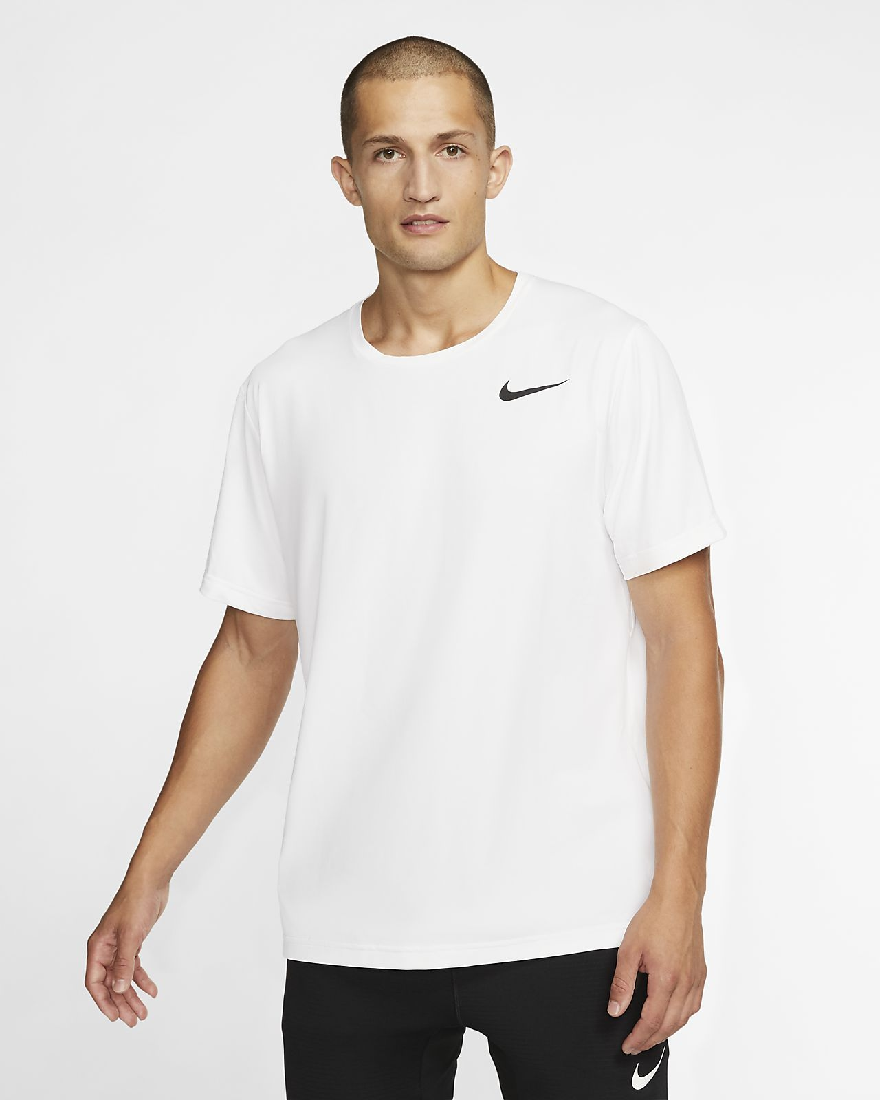 Pánský top Nike Pro s krátkým rukávem