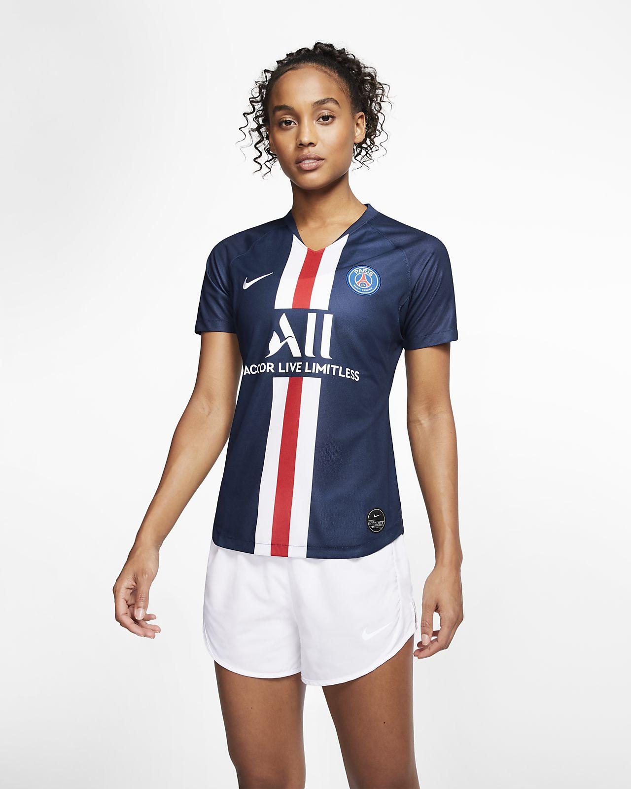 Camisola de futebol Paris Saint-Germain 2019/20 Stadium Home para mulher