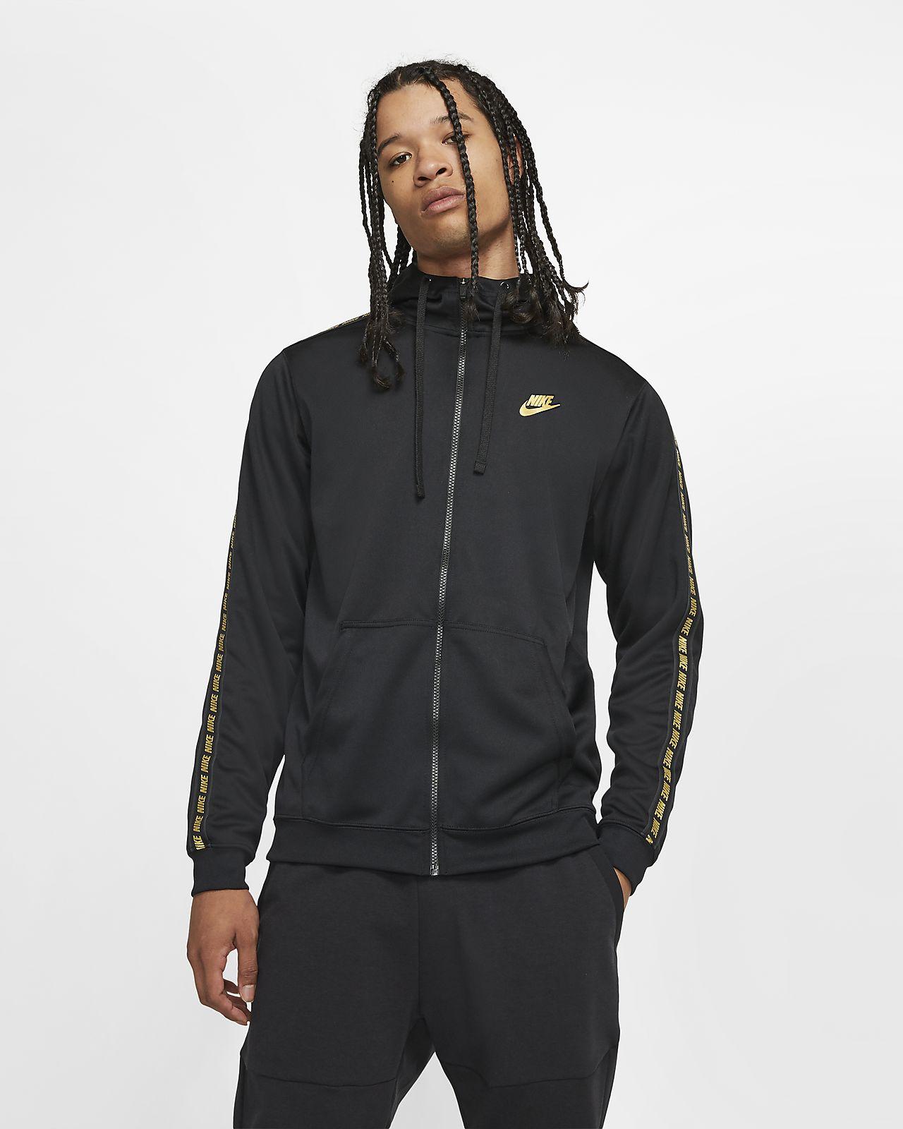 Felpe sportive da uomo Nike a lunghezza della manica manica