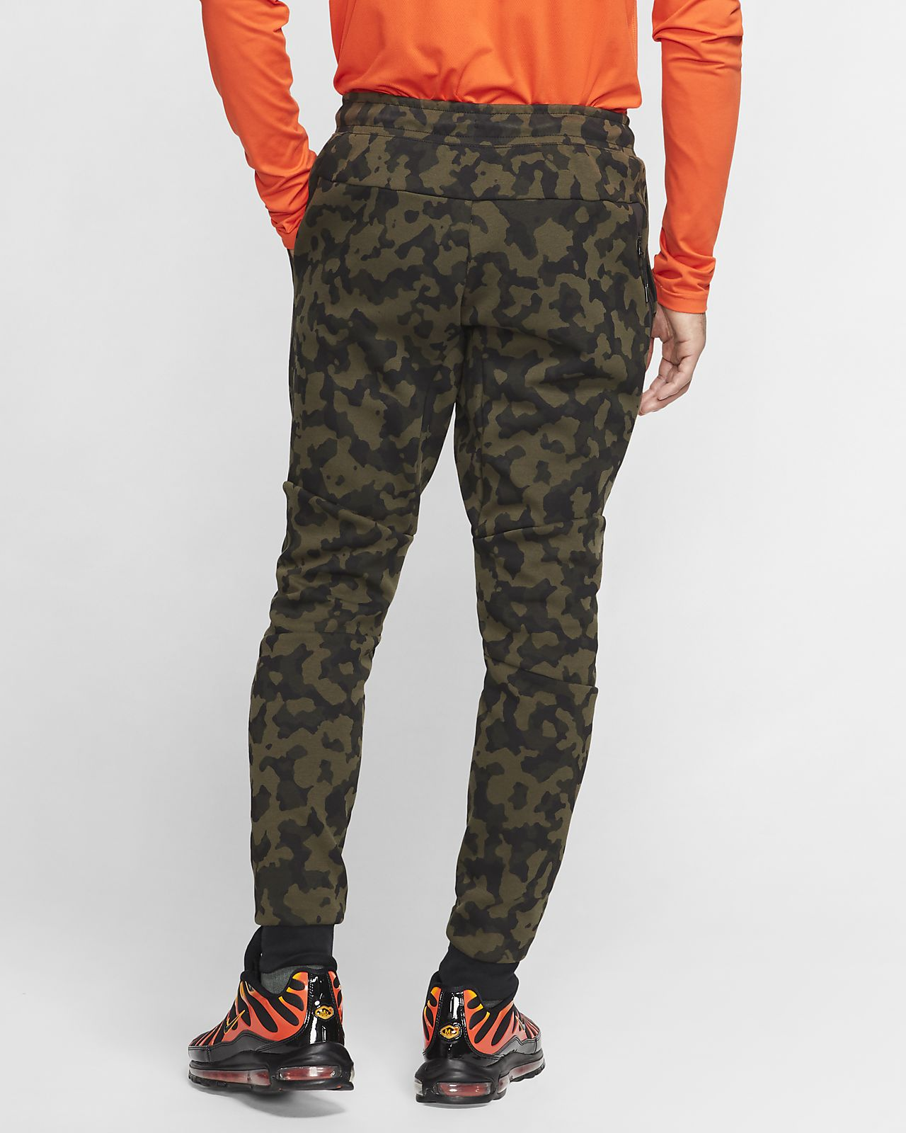 Nike Men Sportswear Camo Print Fleece Hoodie | Nike clothes
