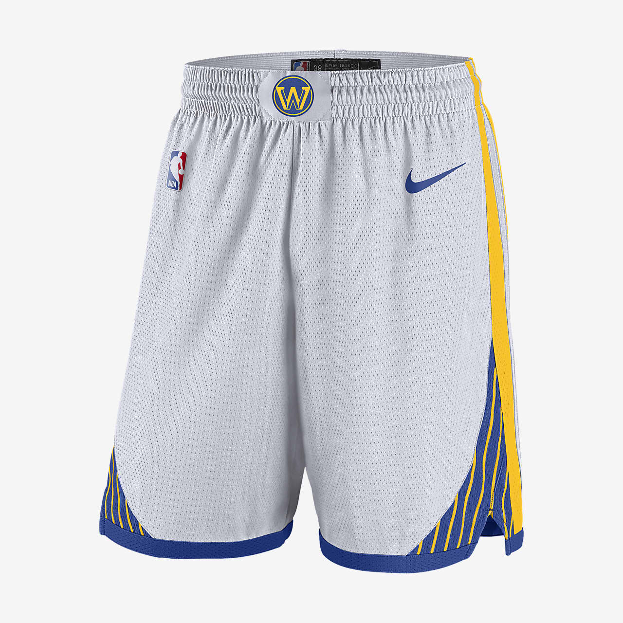金州勇士队 Nike NBA Swingman 男子短裤
