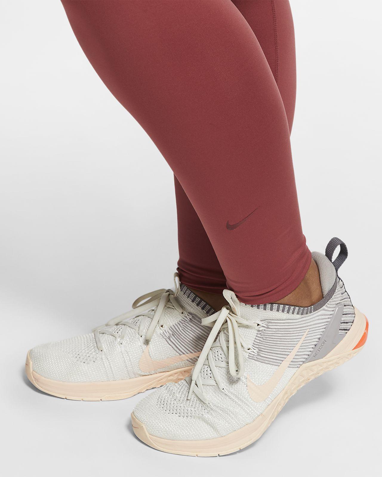 Nike One Luxe tights til dame (store størrelser)