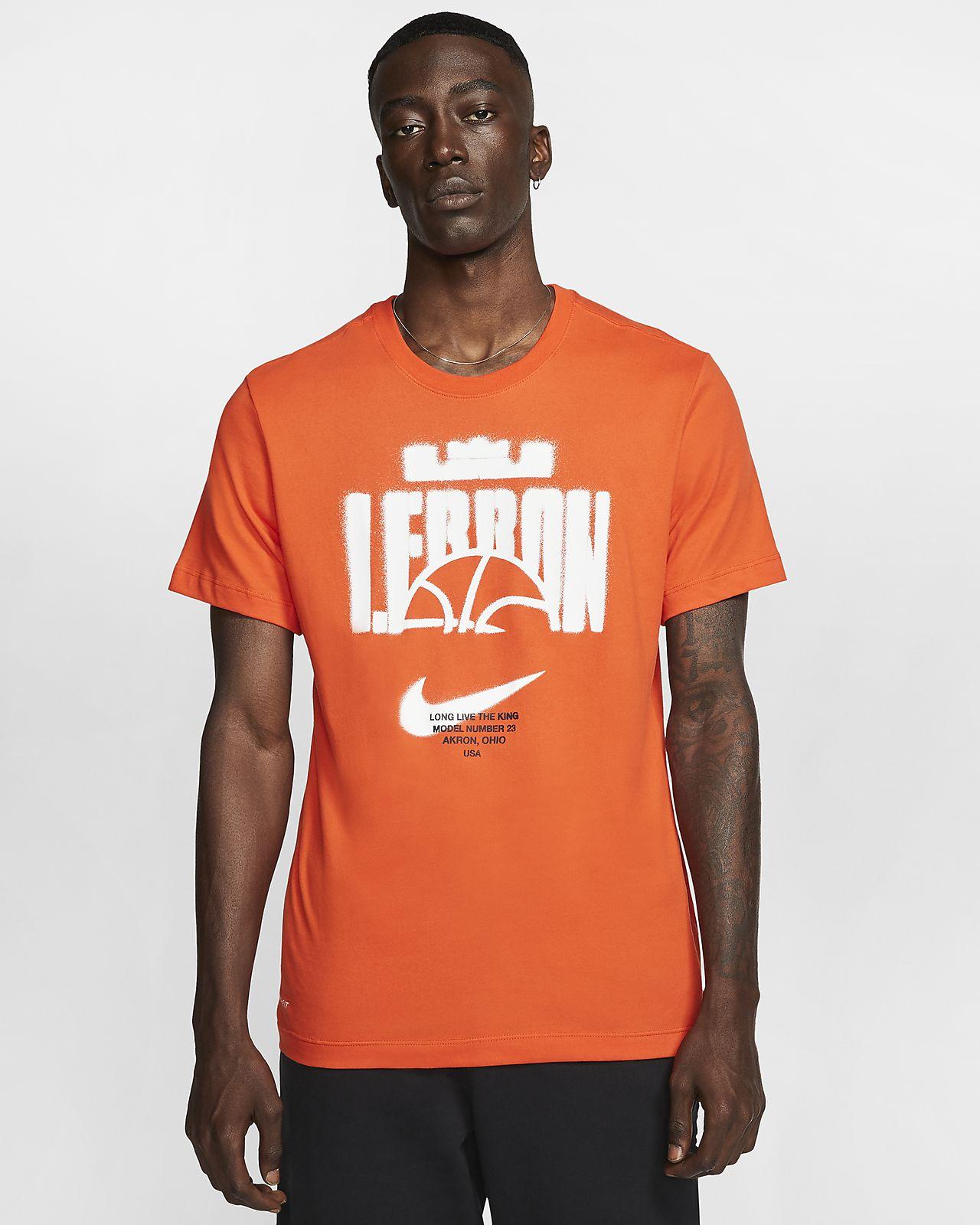 T-shirt de basquetebol Nike Dri-FIT LeBron para homem