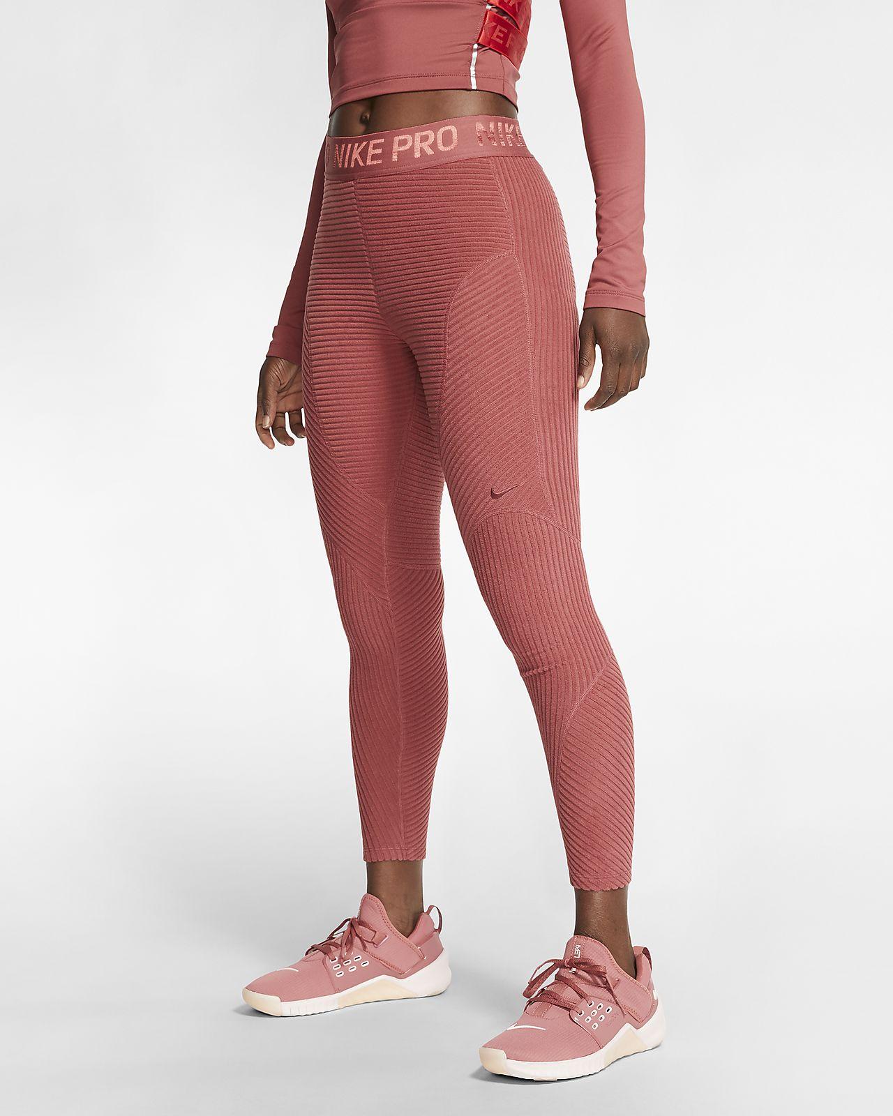 Velour Leggings. Nike CH