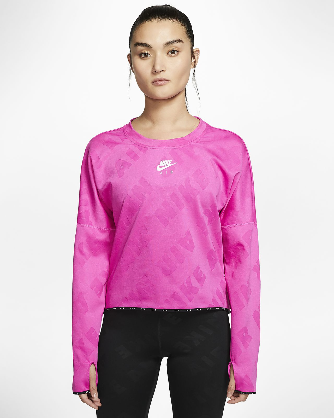 Nike Air Women's Long-Sleeve Running Top