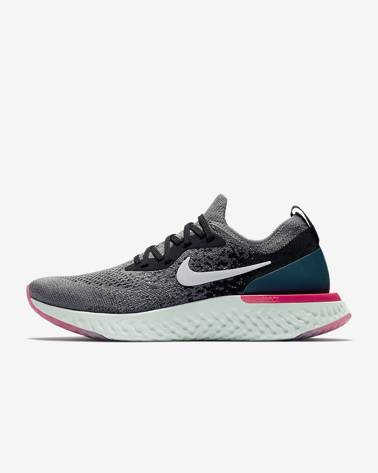 Nike Epic React Flyknit 1 løpesko til dame